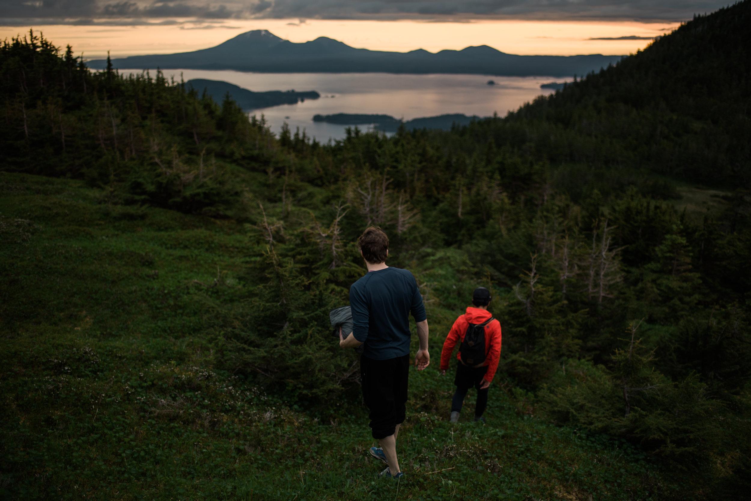 Sitka Alaska Starrigavan Ridge mountain