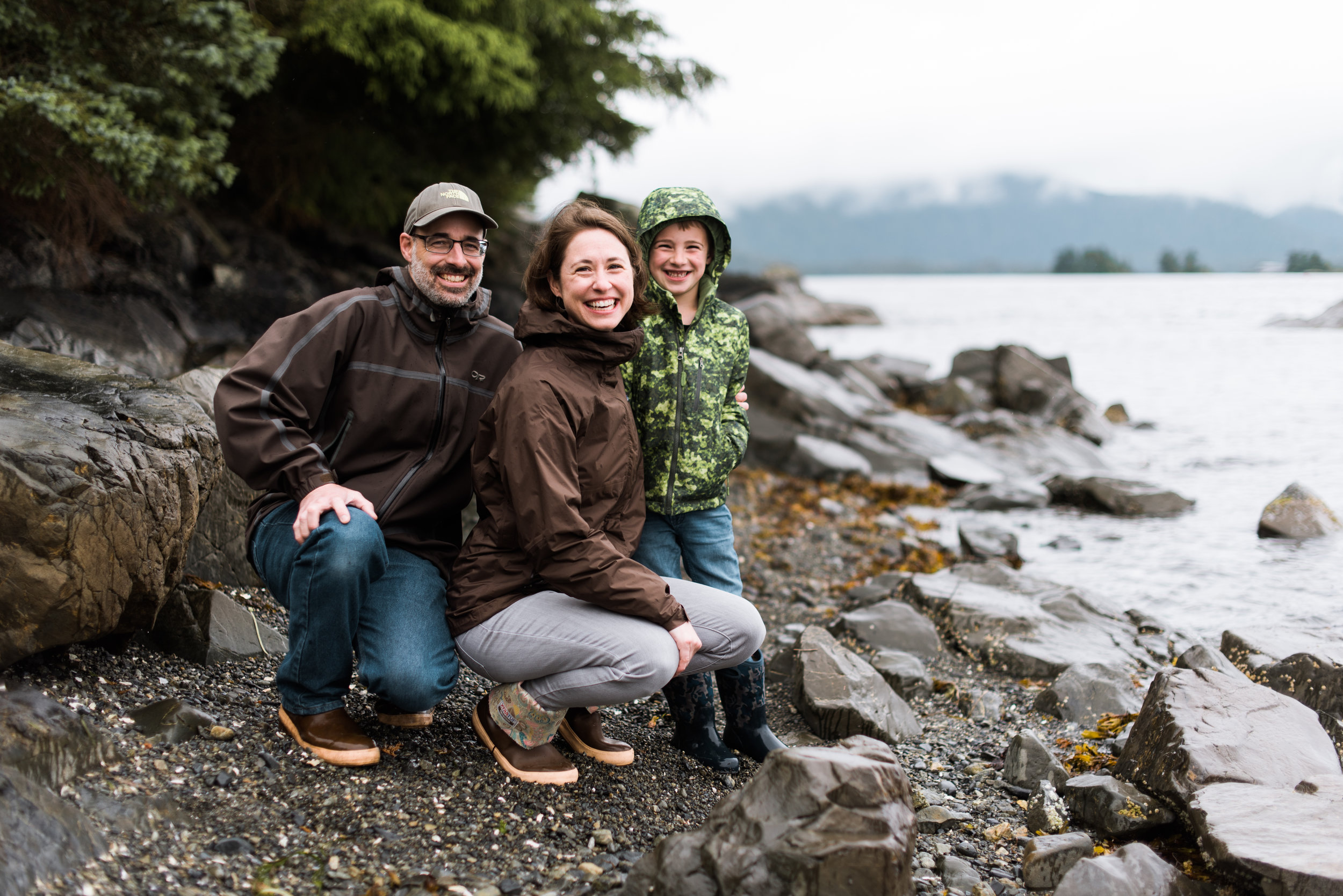 Family photoshoot - Sitka, Alaska - Kendall Rock Photography