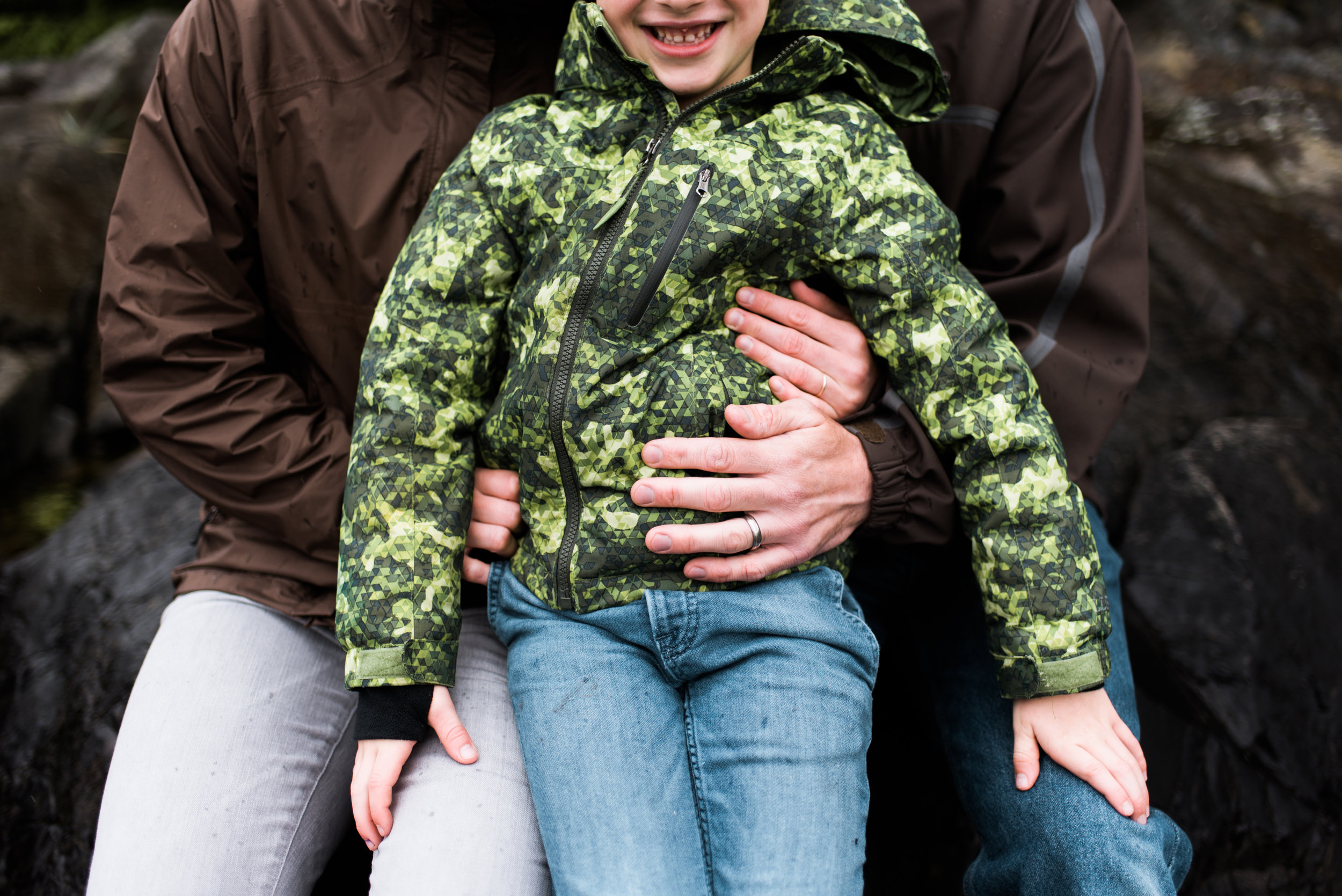 Family photoshoot - Sitka, Alaska - Kendall Rock Photography