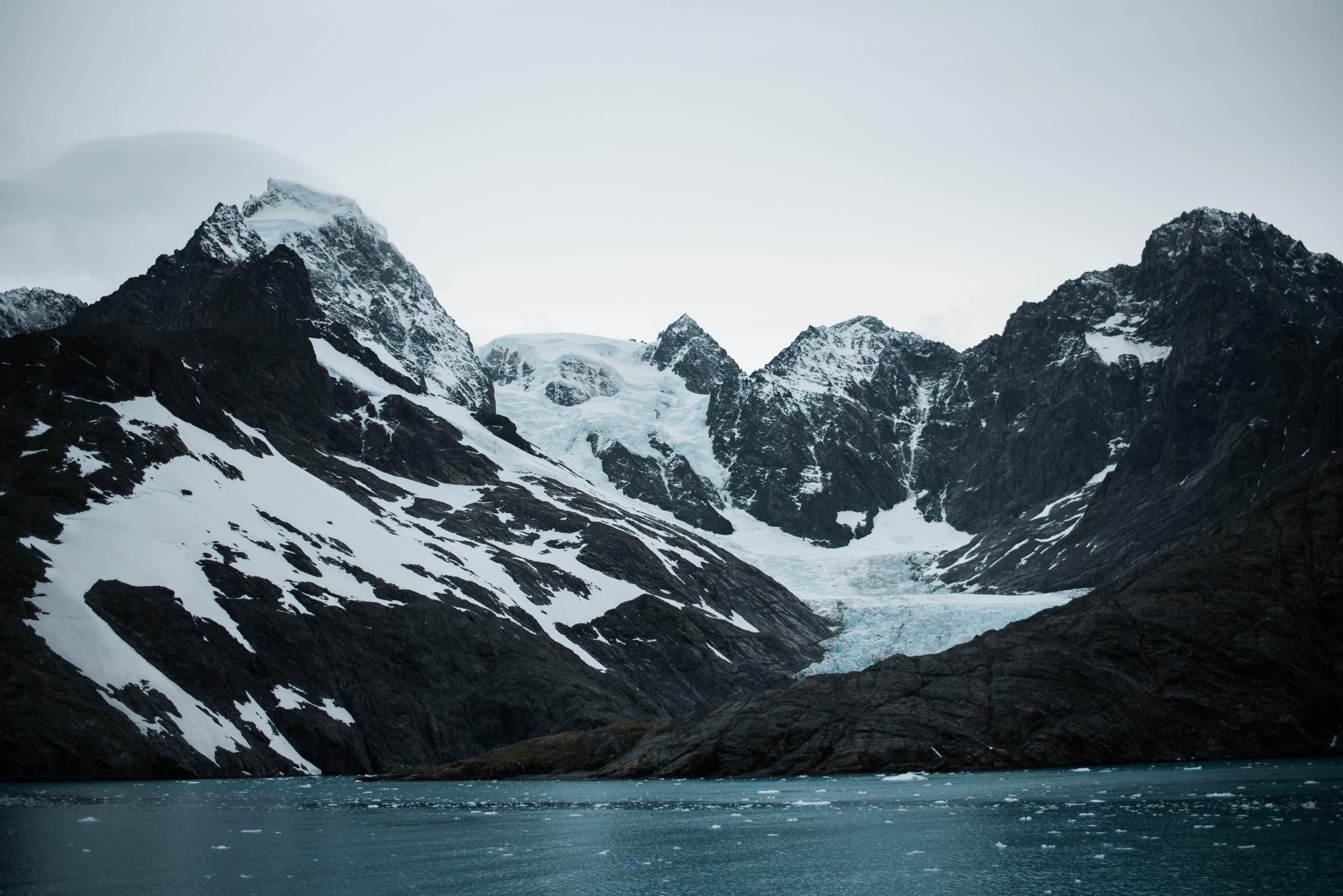 in Drygalski Fjord