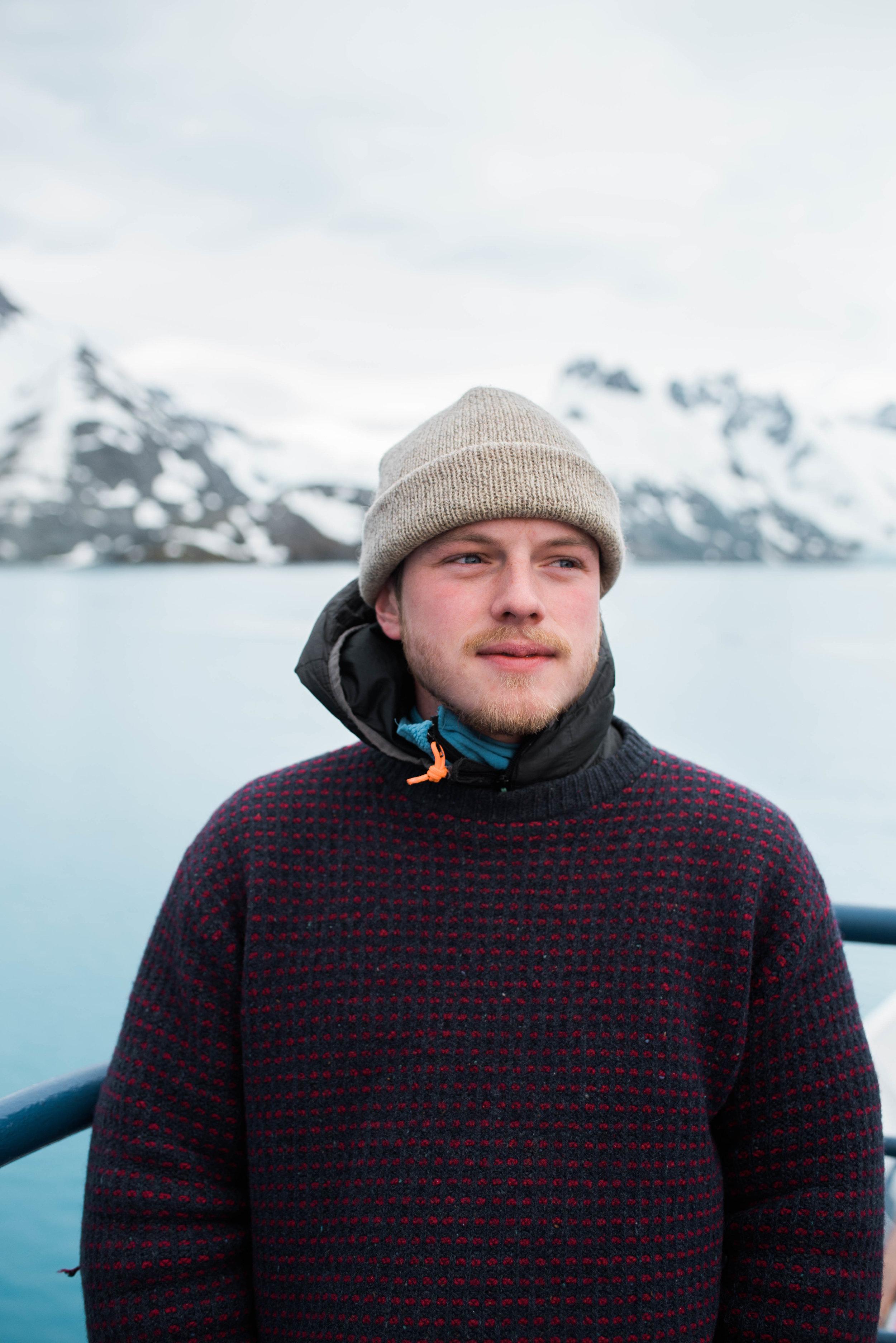 Lee in Drygalski Fjord