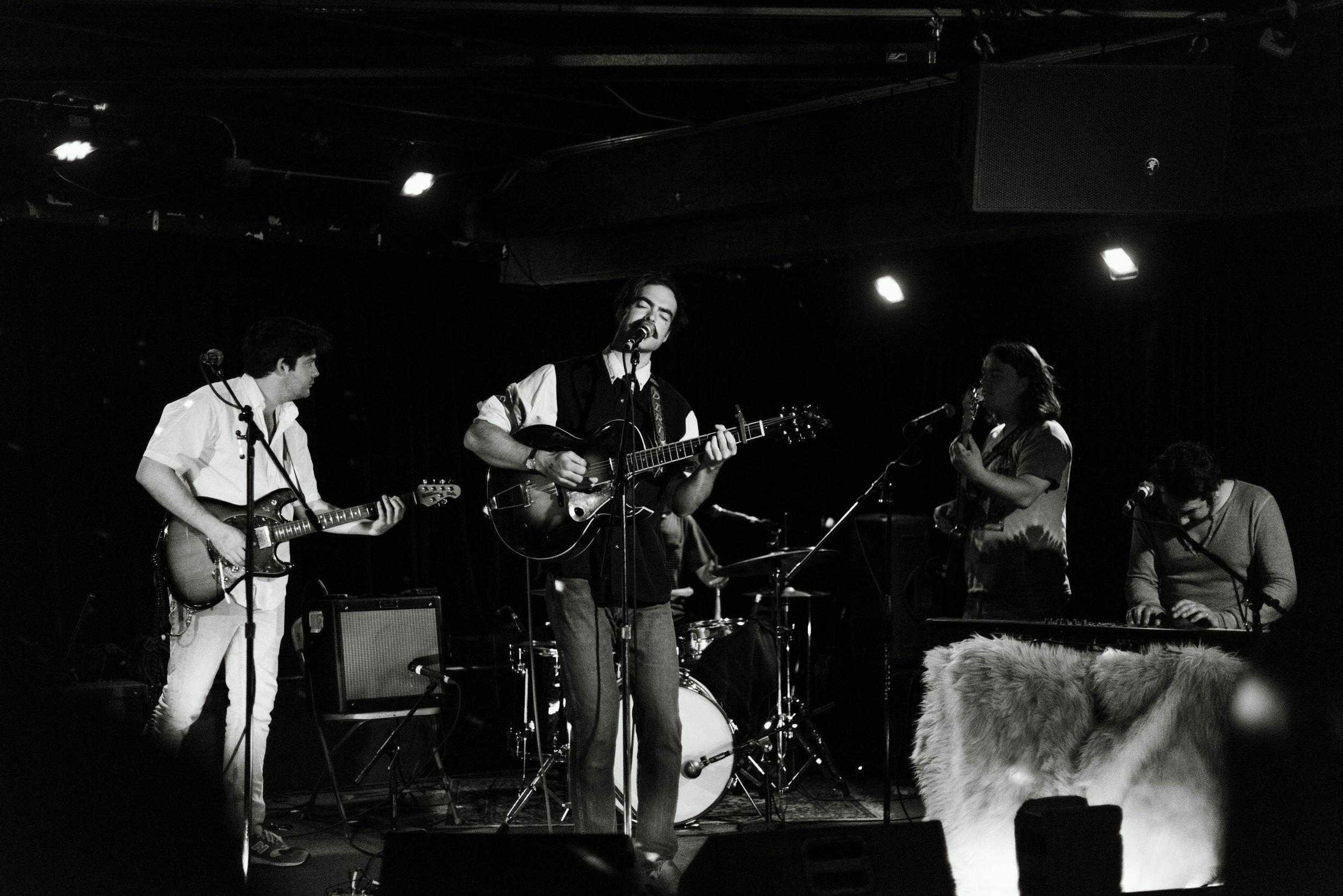 Izaak Opatz live at the Sunset Tavern Ballard Seattle Kendall Rock Photography
