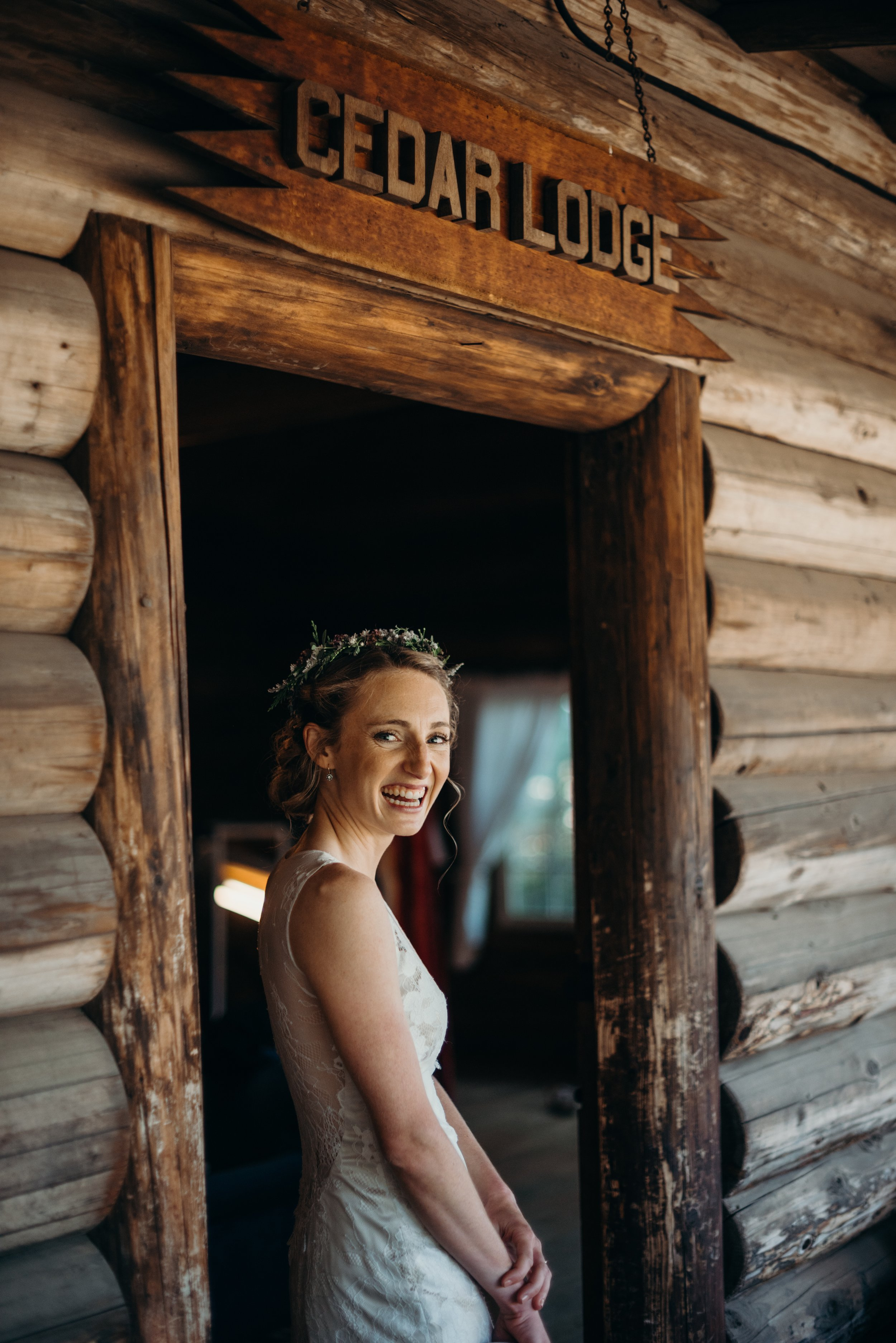Coeur d'Alene summer camp wedding photography by Kendall Rock