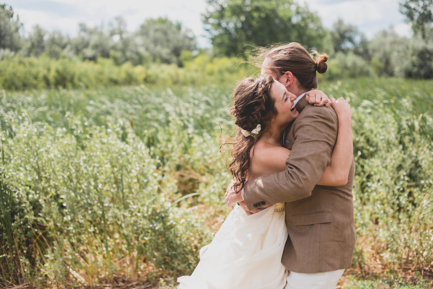 rustic colorado farm wedding