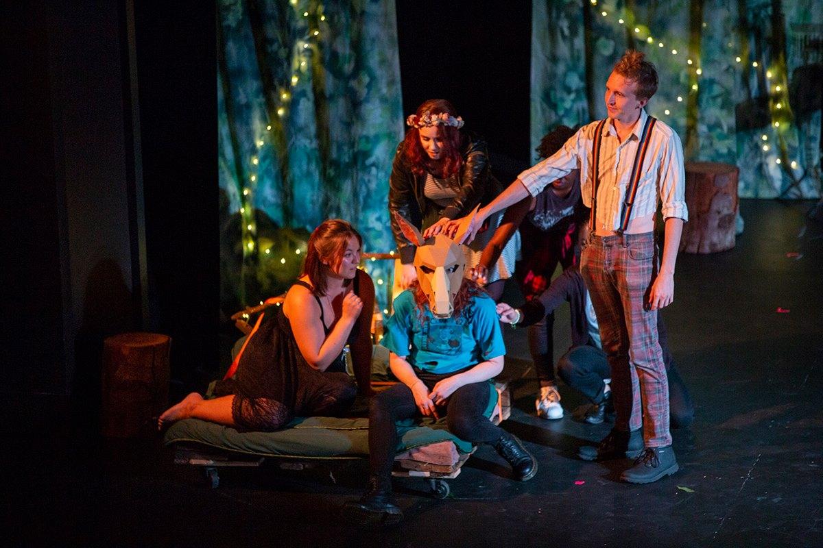 Midsummer Night's Dream - by William Shakespeareco-direction - Darius Pierce, Liz YoungAnonymous Theatre