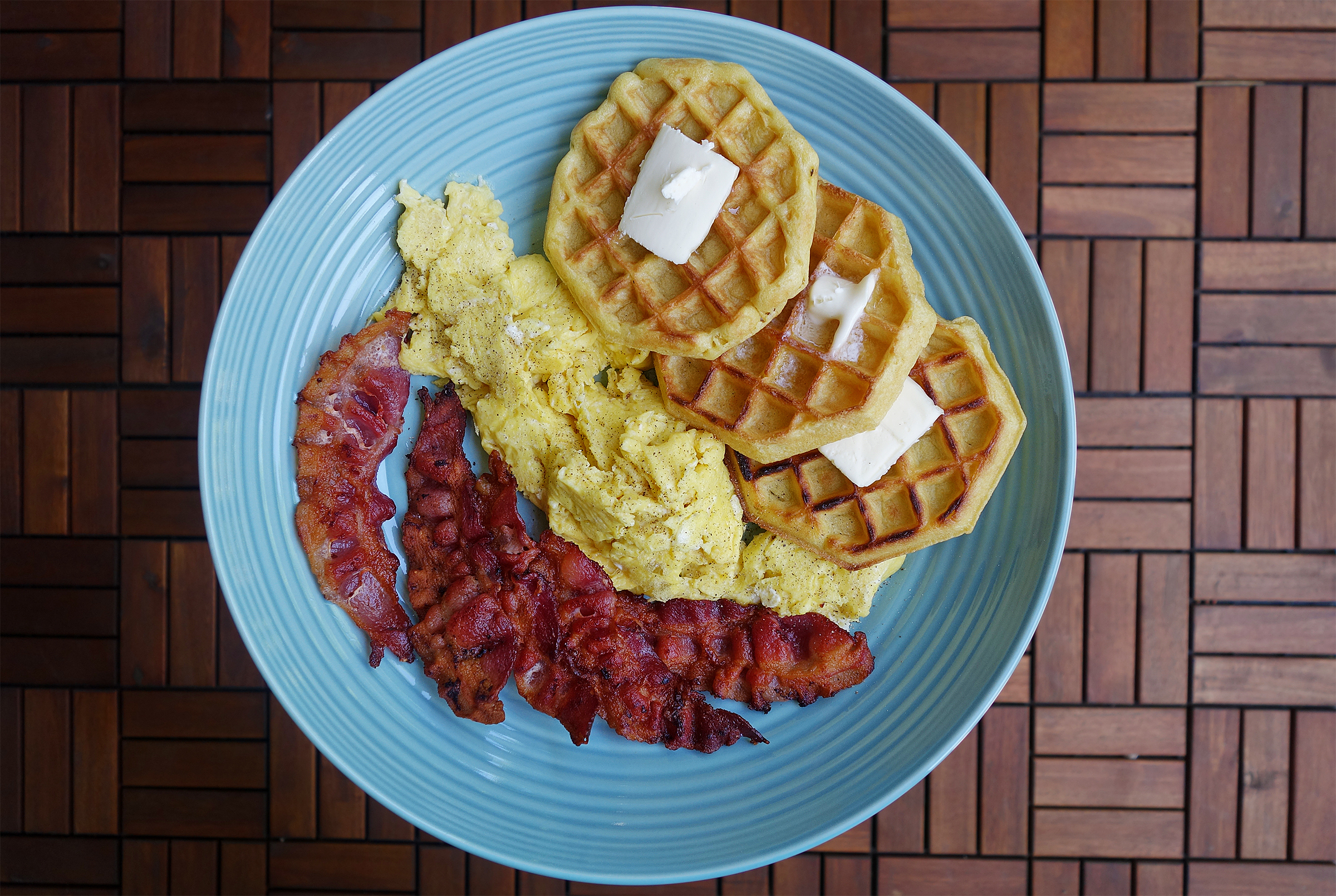 BEW - Bacon Eggs and Waffles