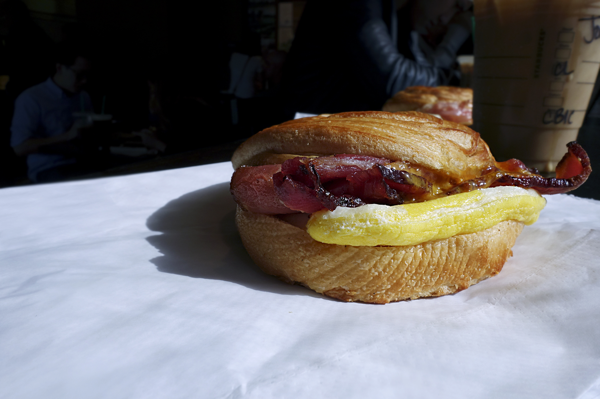 Double-Smoked Bacon, Cheddar & Egg Sandwich