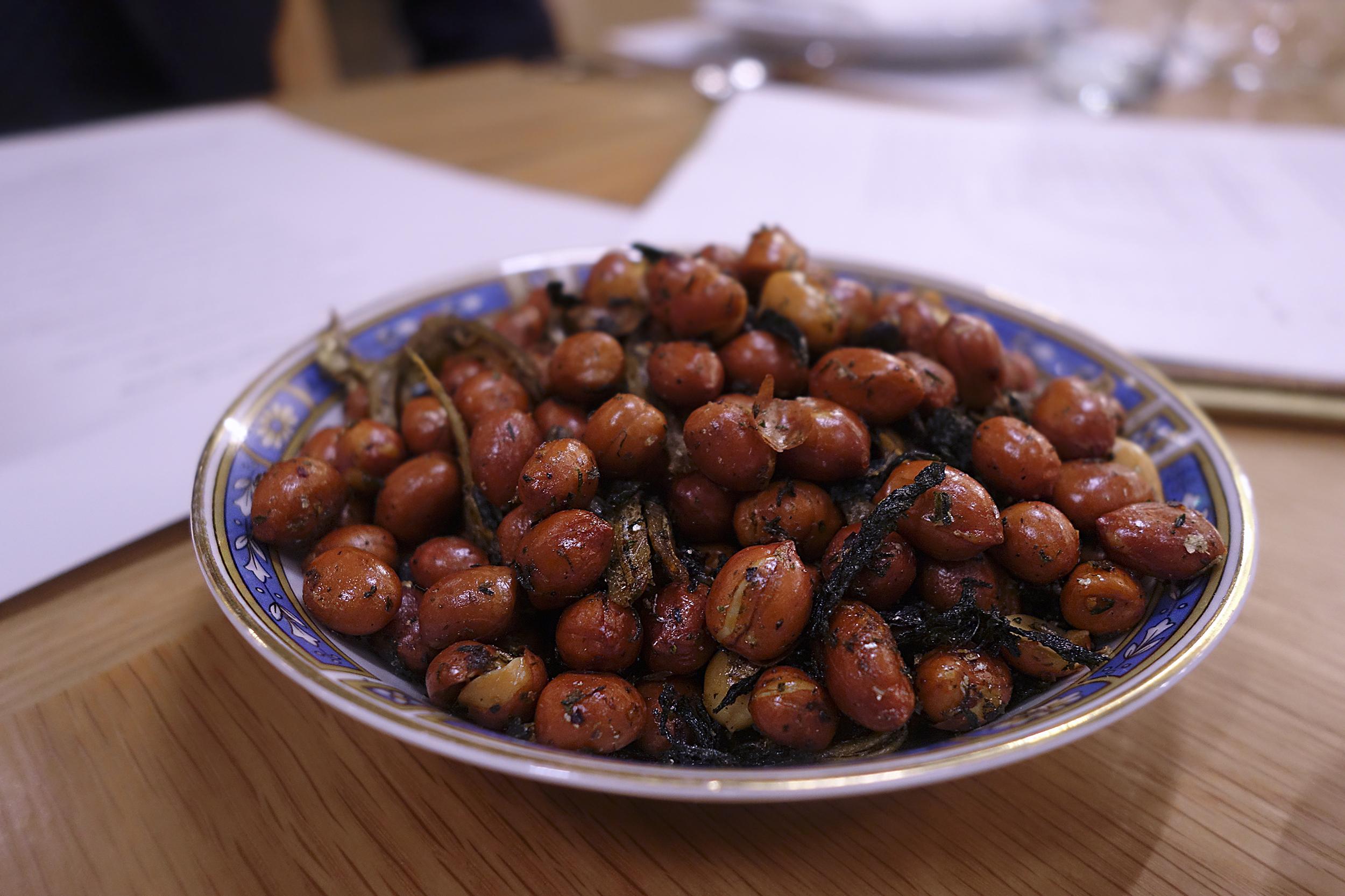 Yin's wok fried seasoned nuts