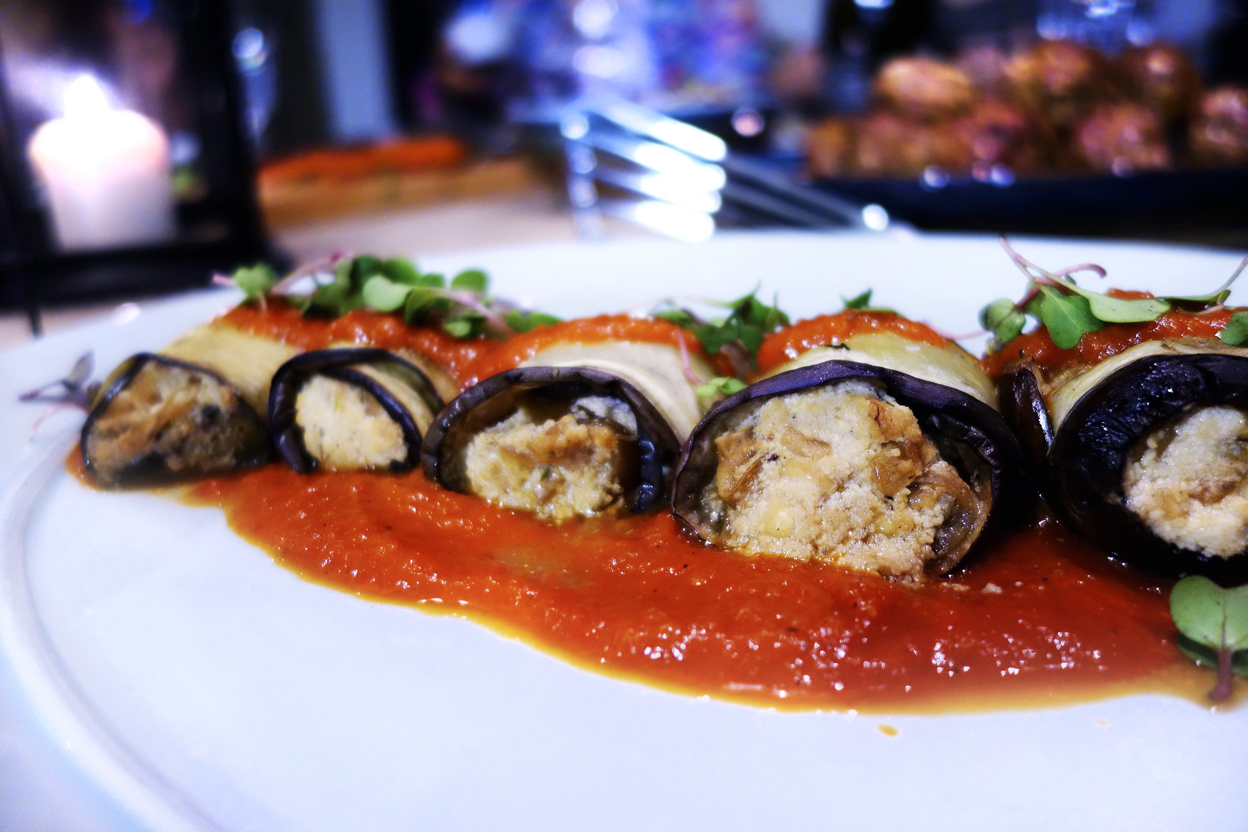 Roasted Garlic Panzanella