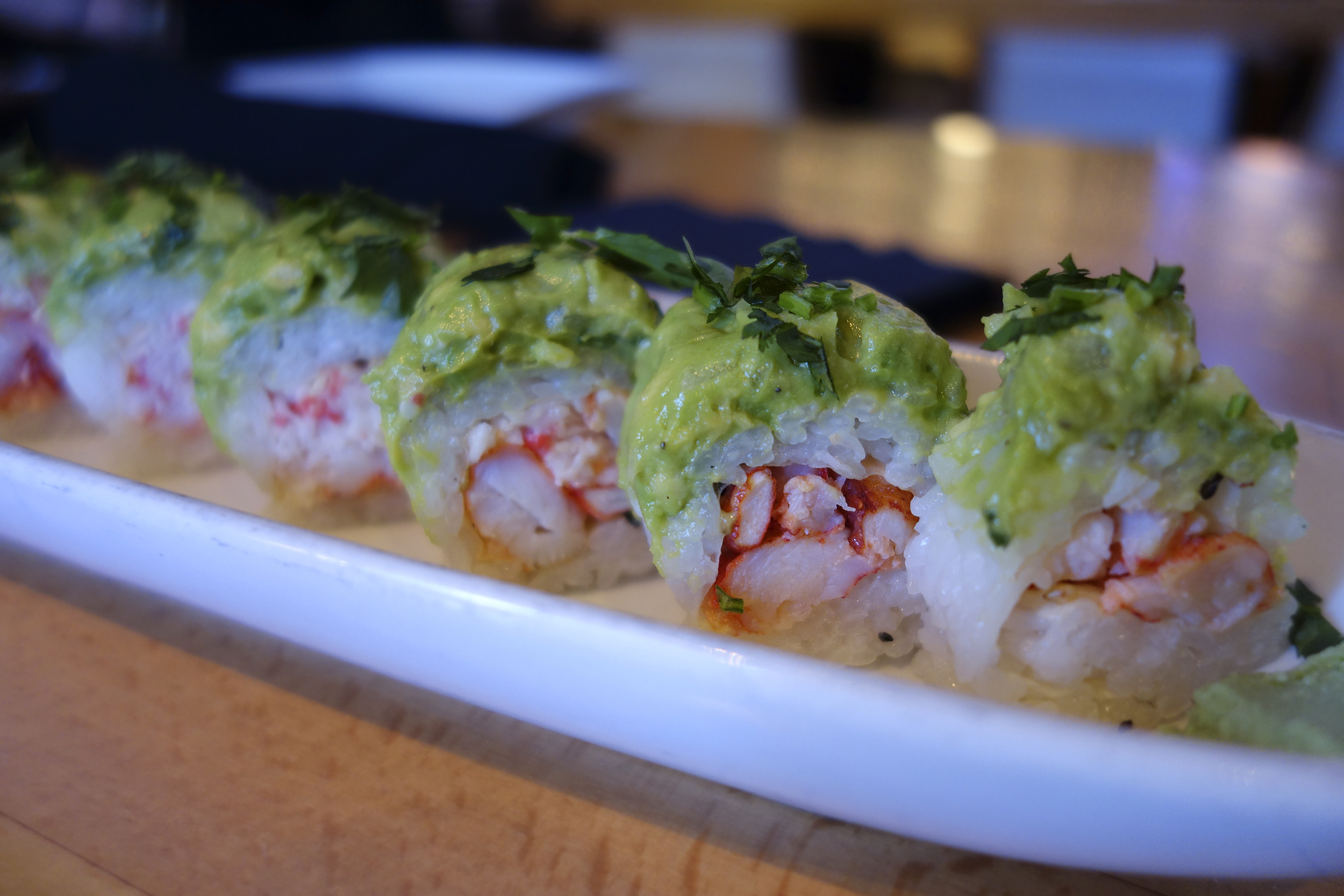 Lobster Guacamole Roll