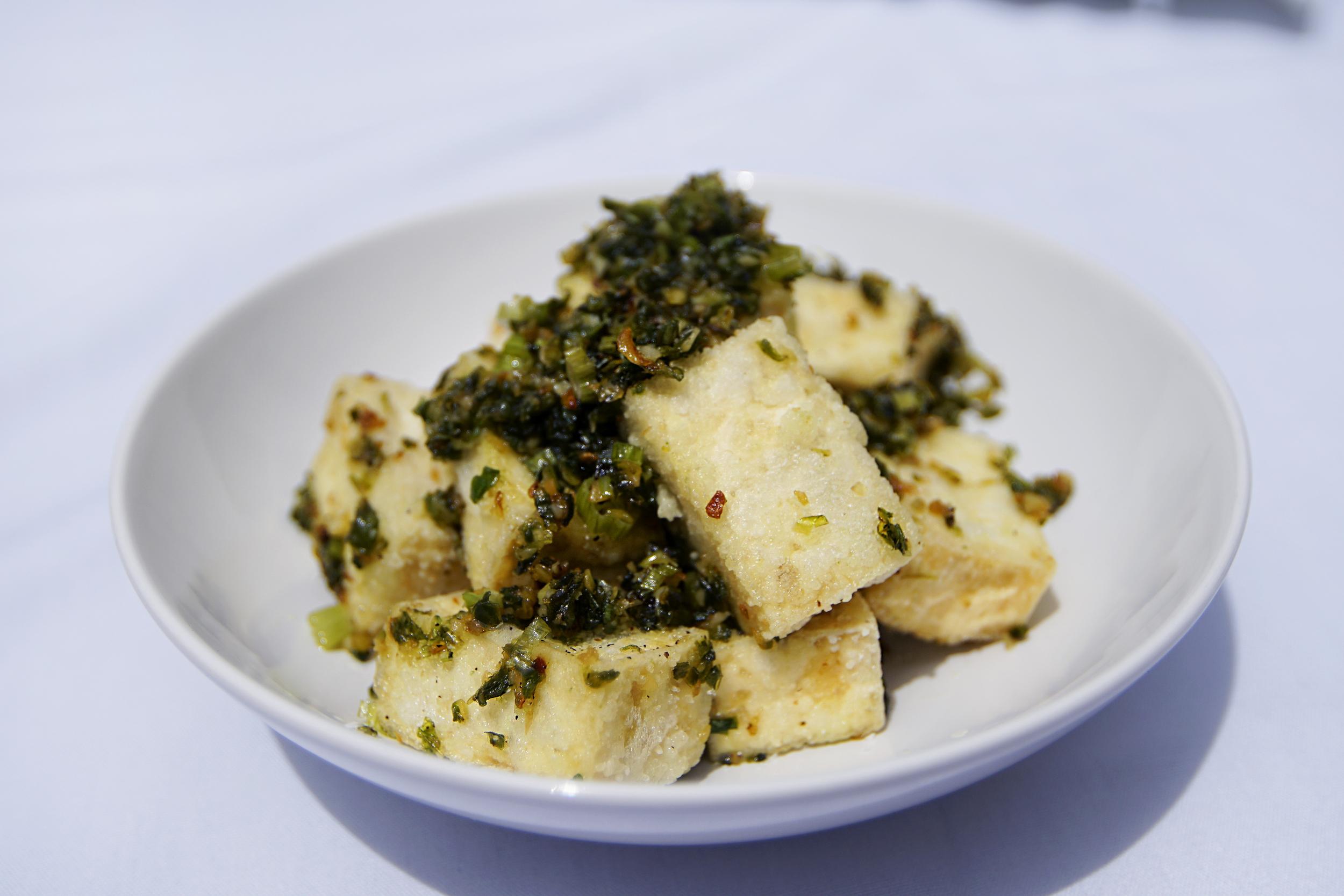 Jalapeño Salt and Pepper Tofu