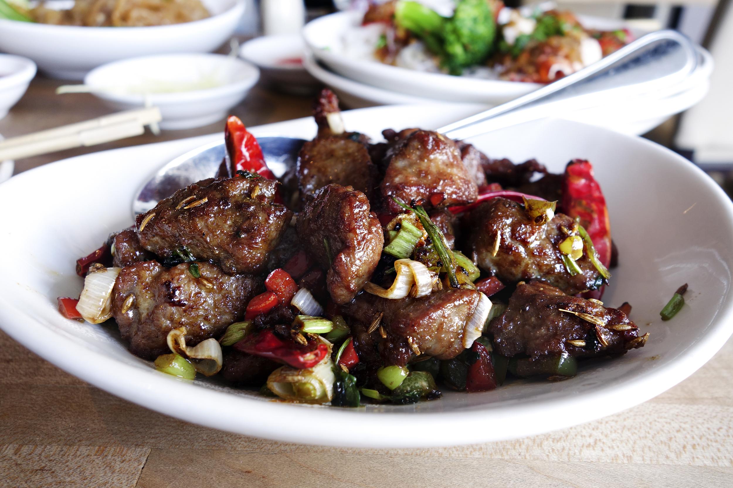Hunan Style Lamb Tenderloin