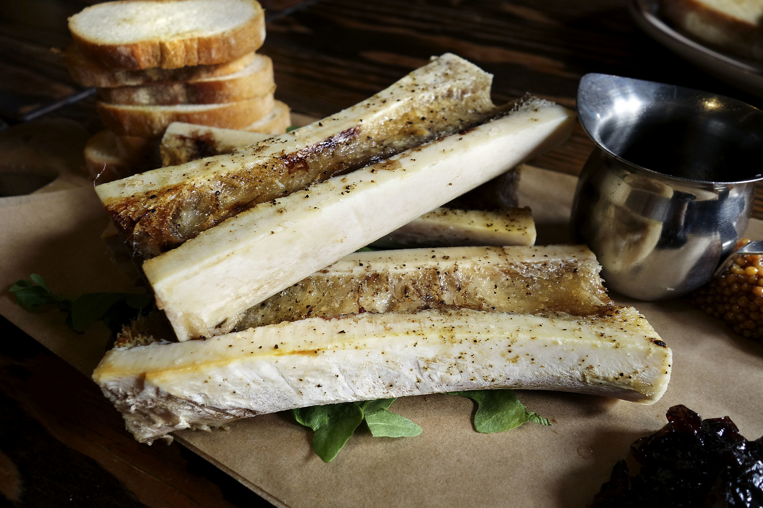 Roasted Veal Marrow
