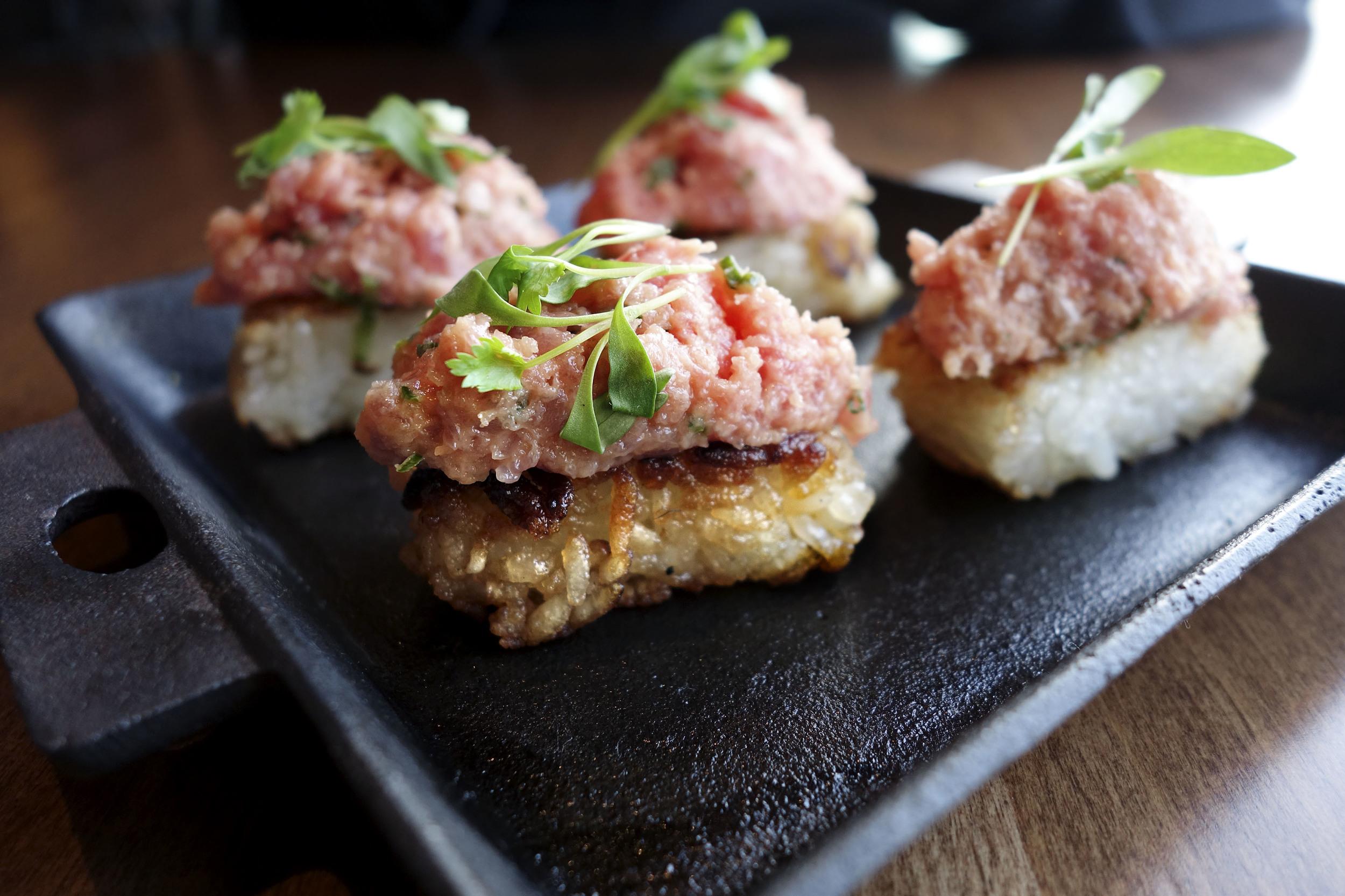 Spicy Tuna Crispy Rice