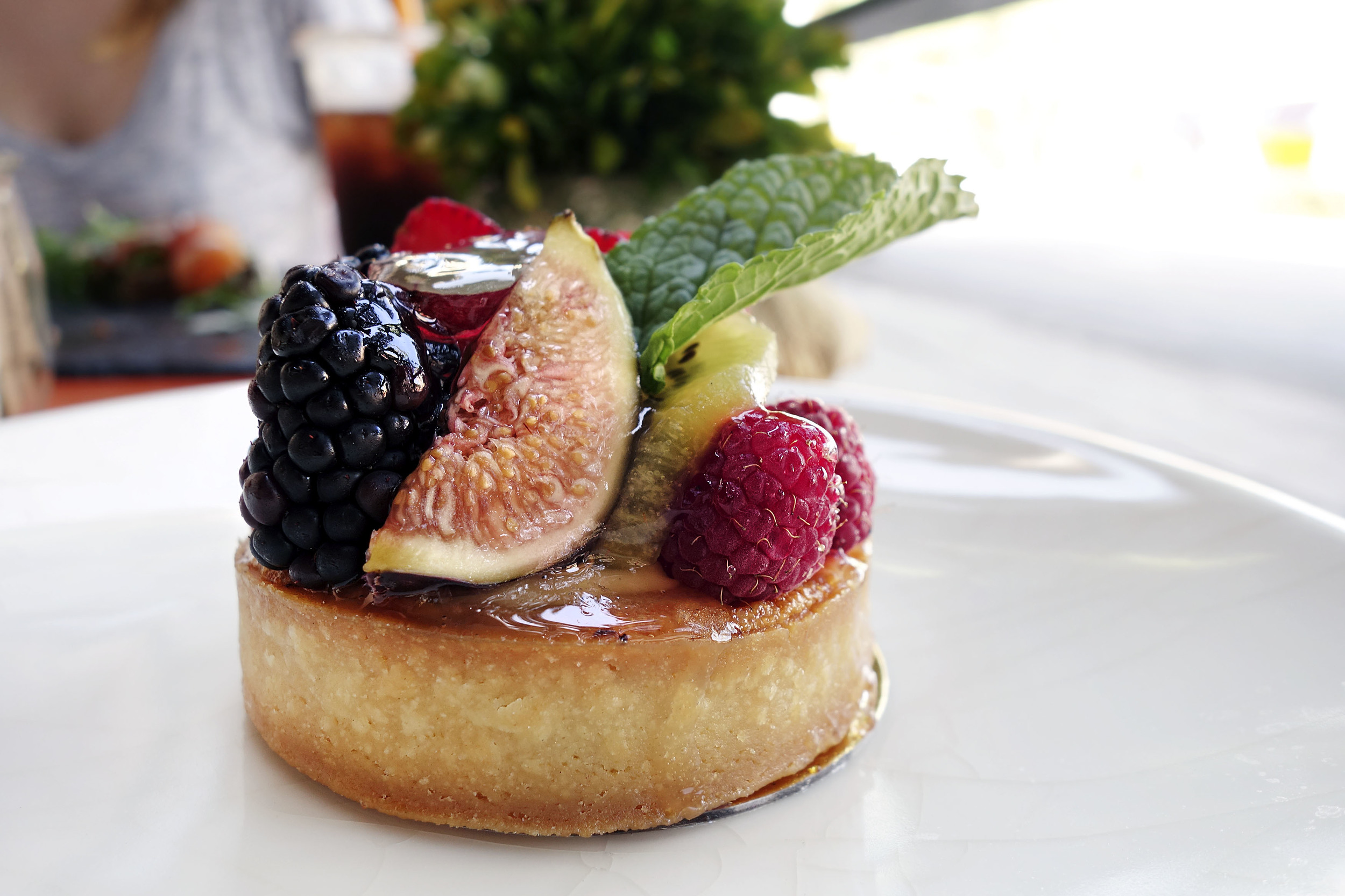 Mixed Berry Fruit tart