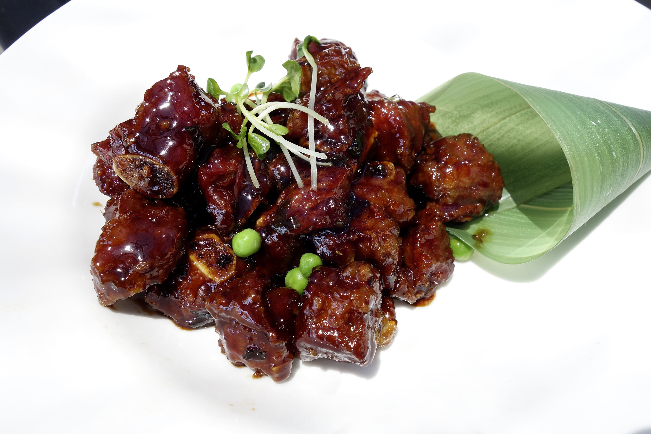 Sweet and Sour Pork riblets.