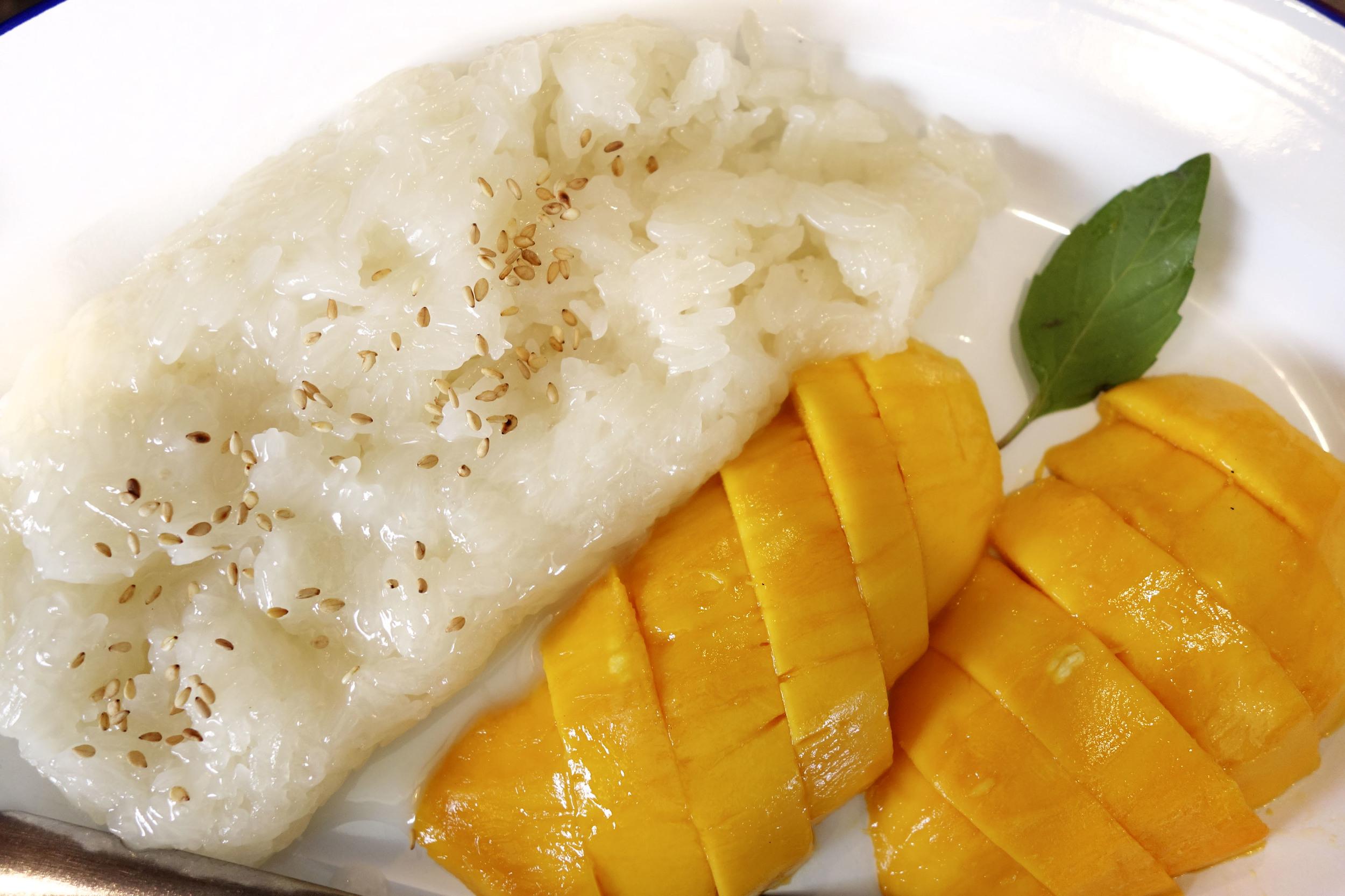 Mango Stick Rice