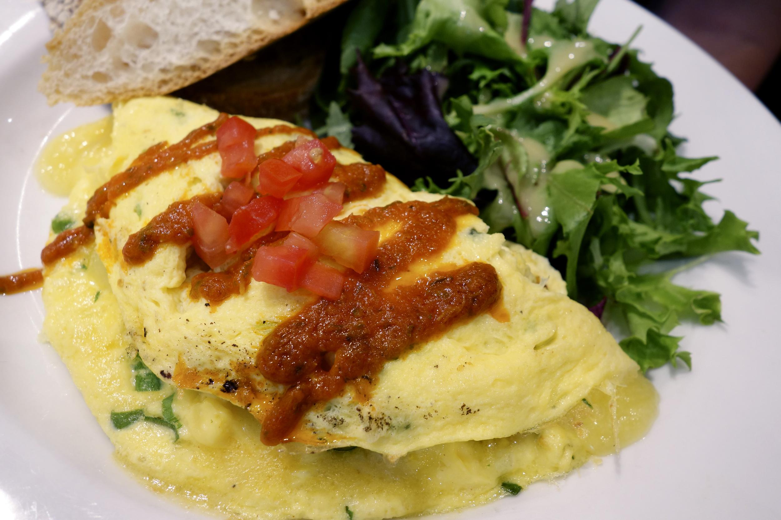 Chicken Chorizo Omelette