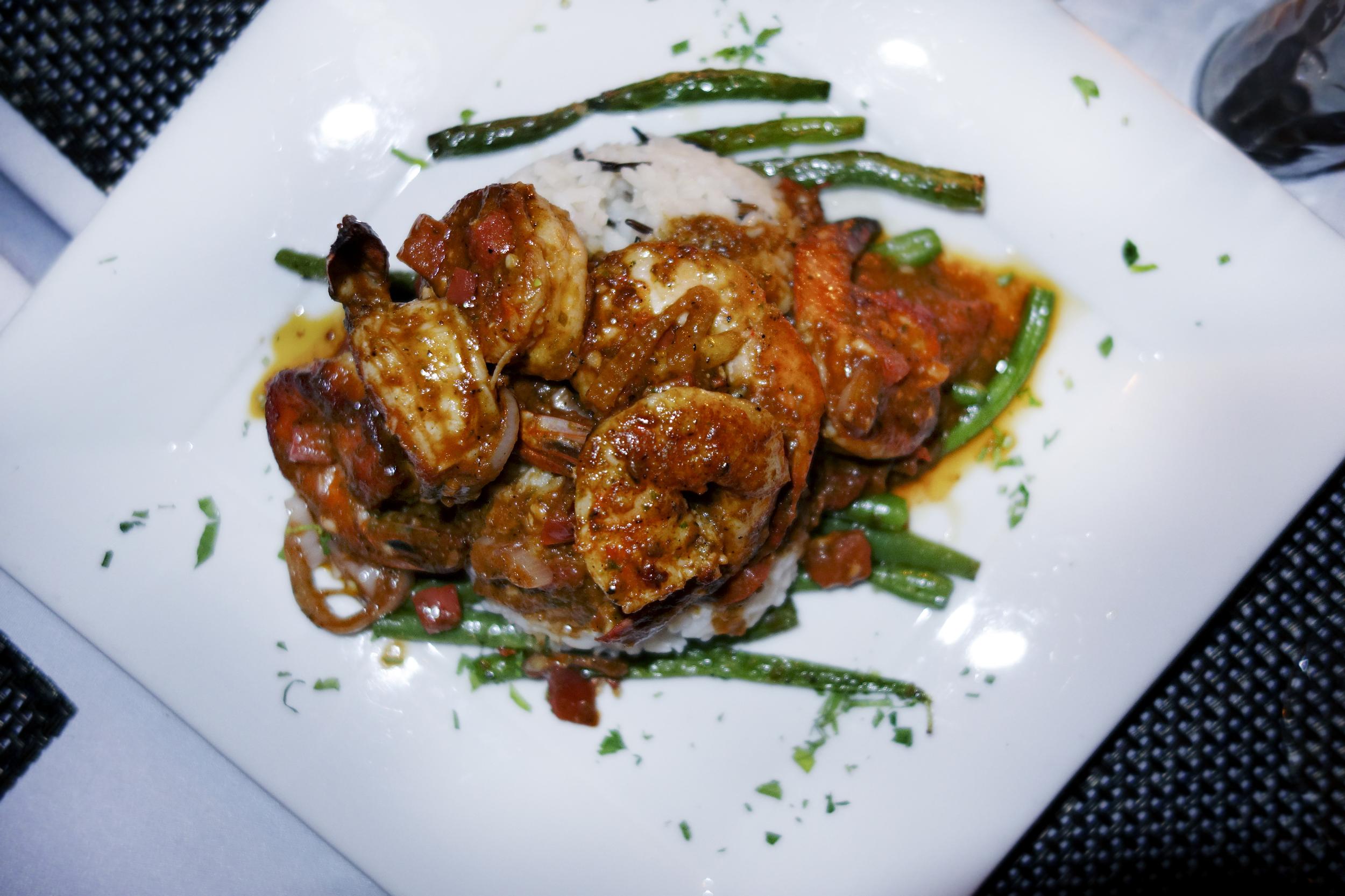 Shrimp Provencal