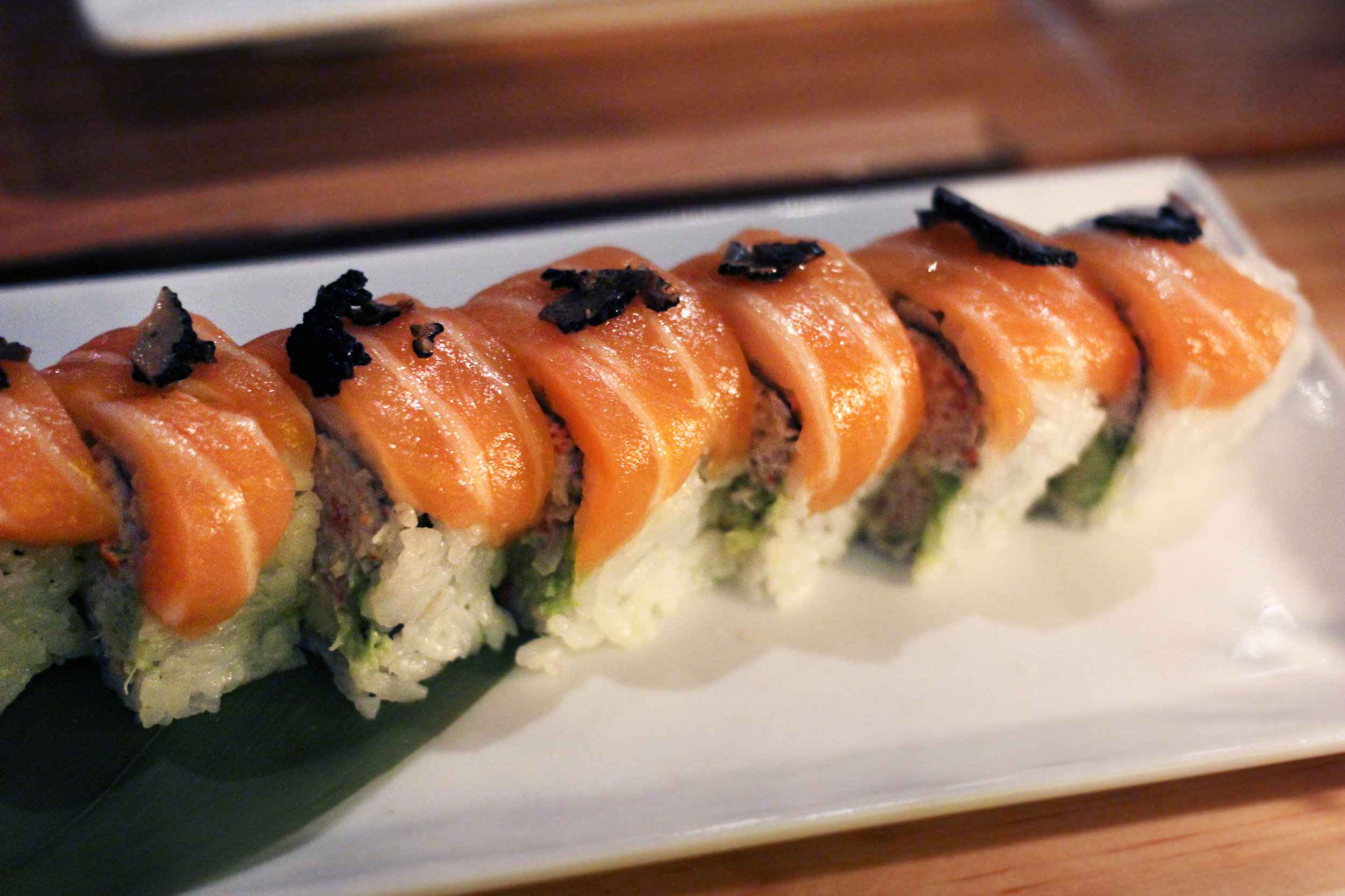 Truffle Salmon Roll