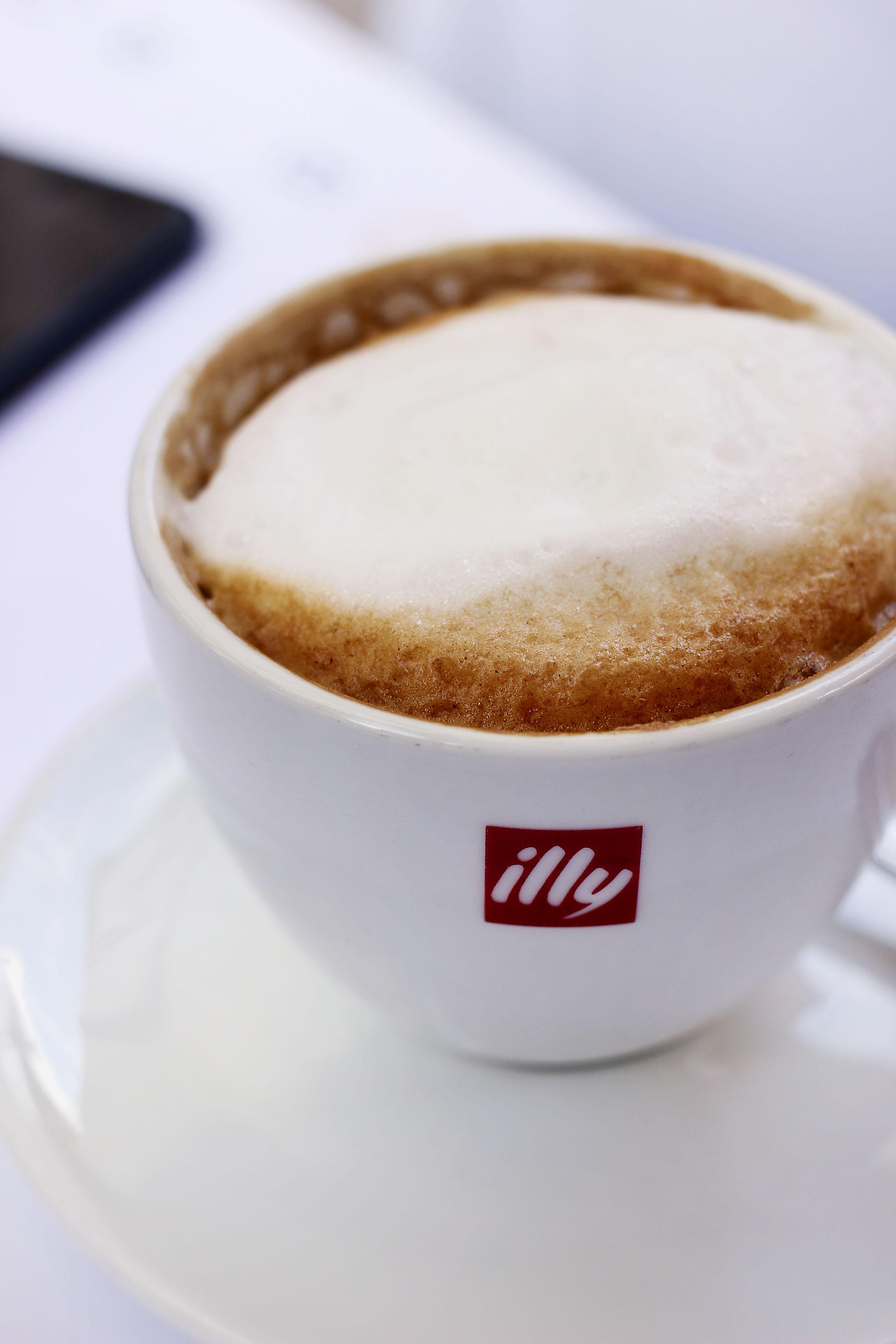 Double Cappuccino.