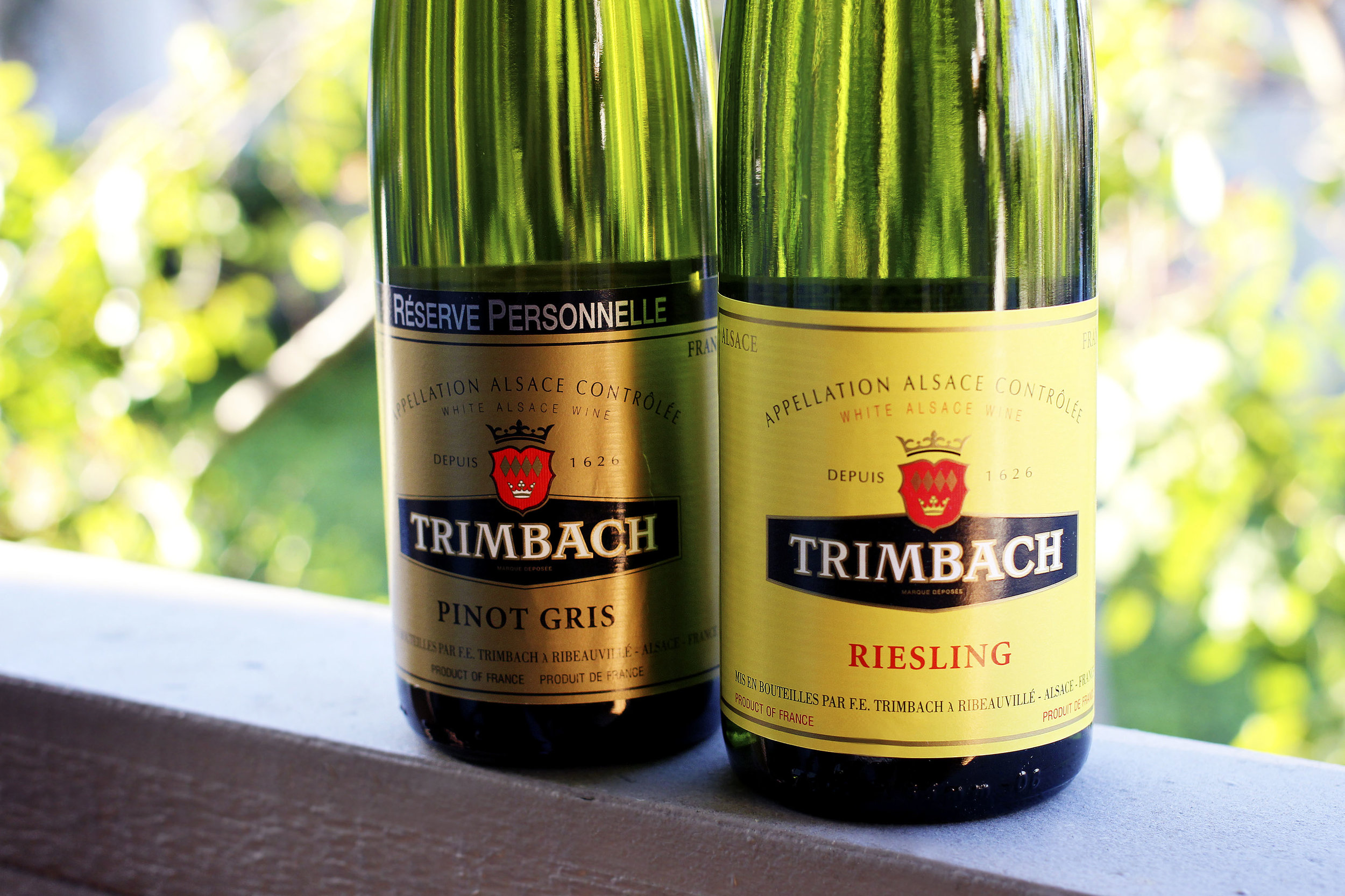 Click the photo to learn more about Trimbach wines.
