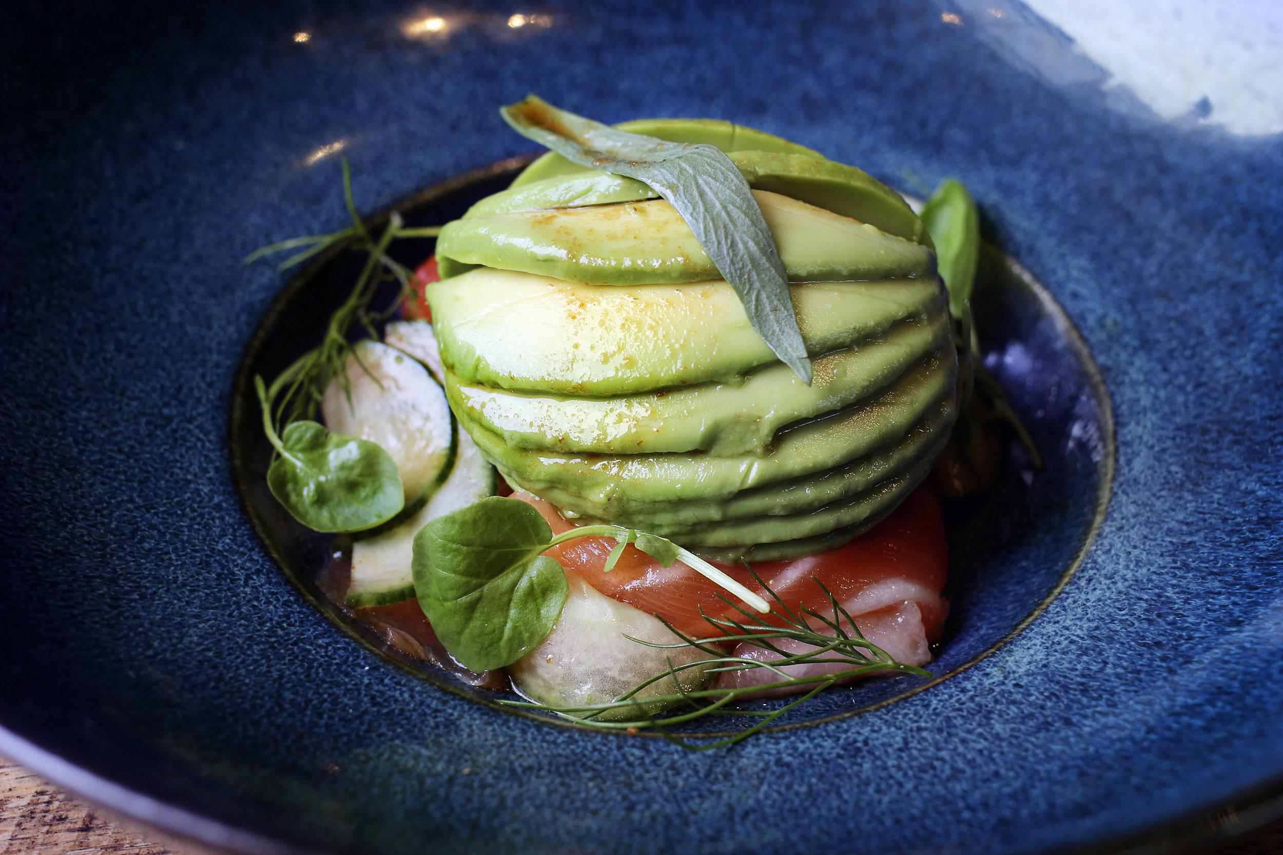 Steelhead Gravlax | Cucumber | Tarragon