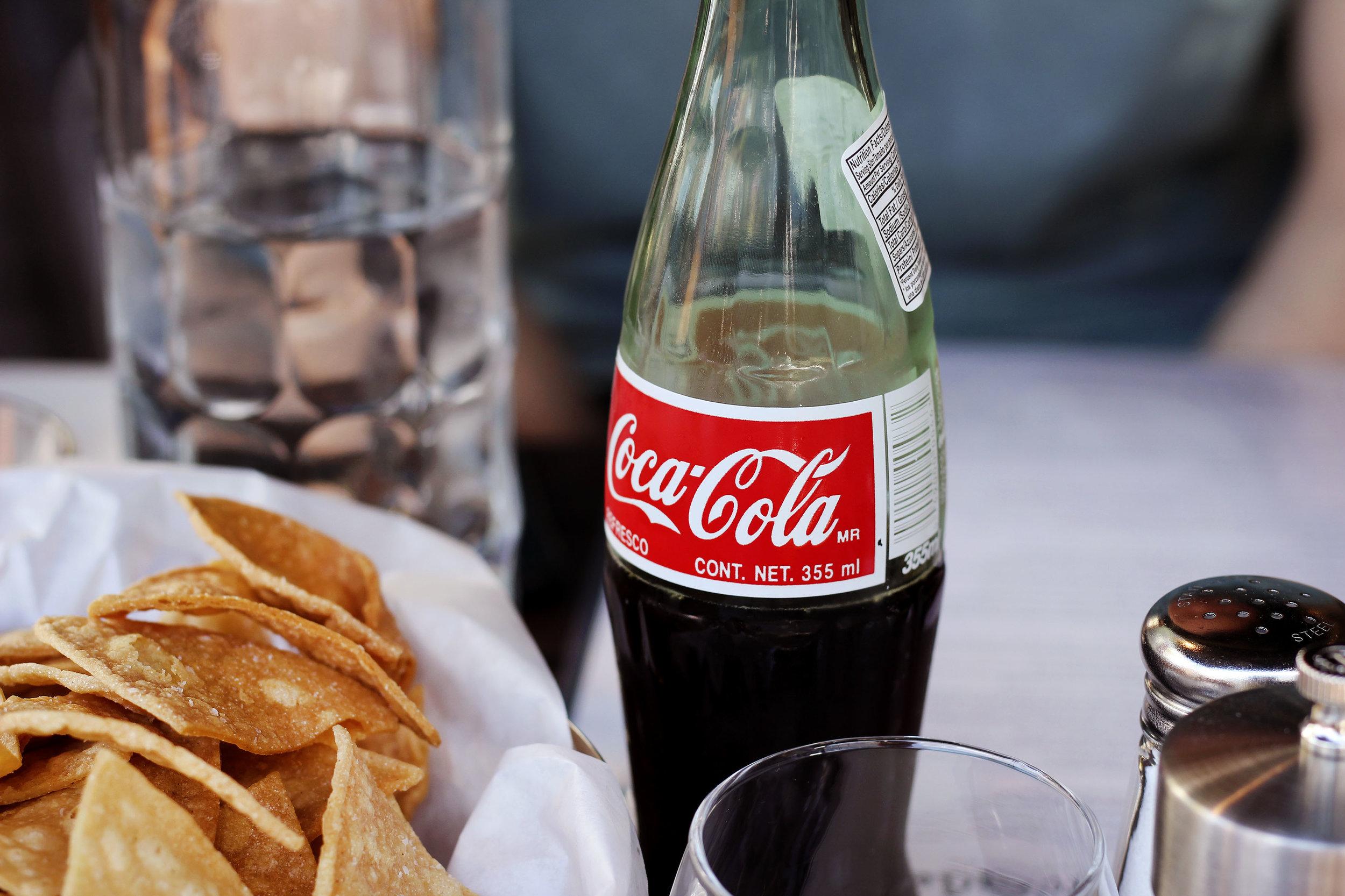 Mexican Coke - Cane sugar for the win.
