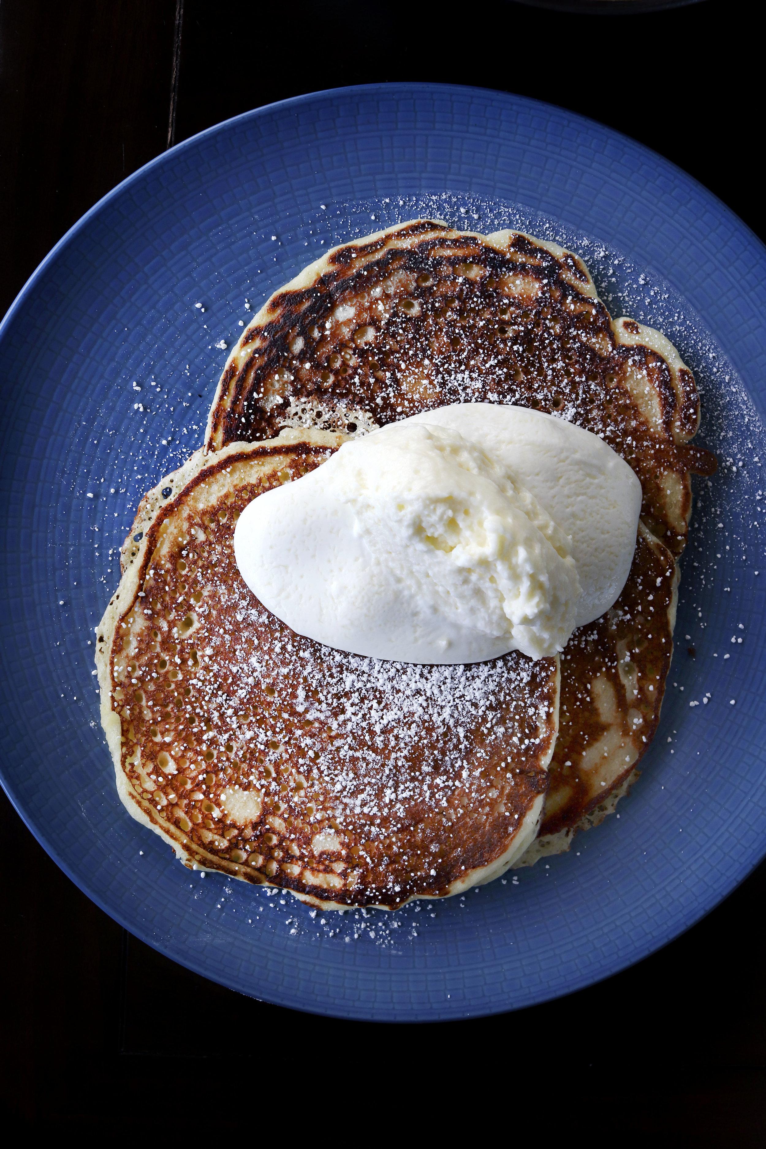 Corn Flour Pancakes