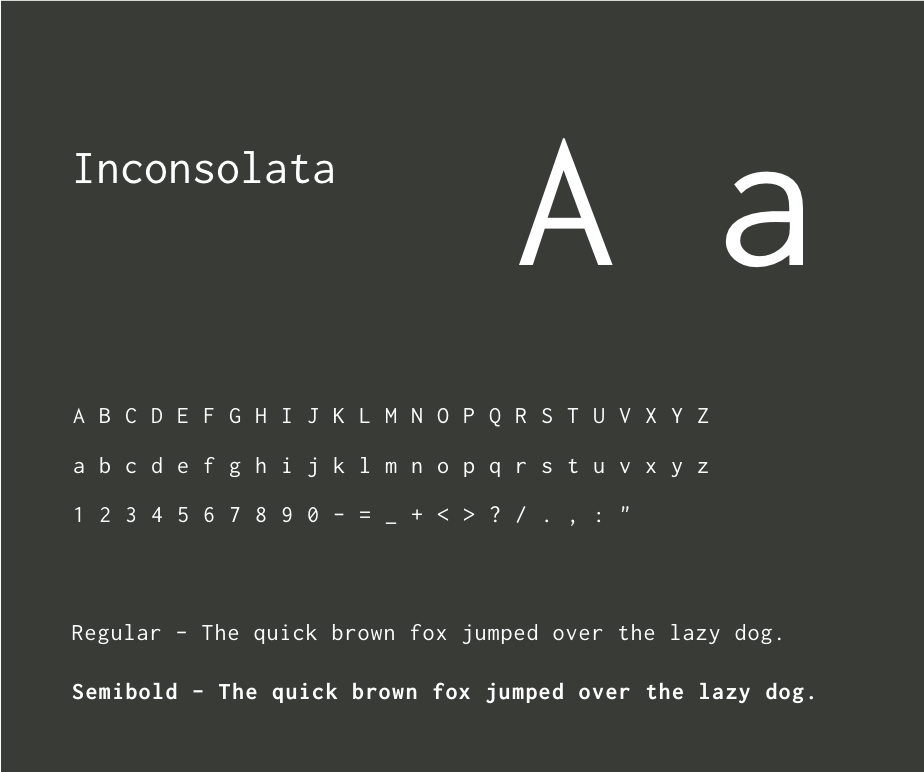 Typography - Inconsolata Light.png