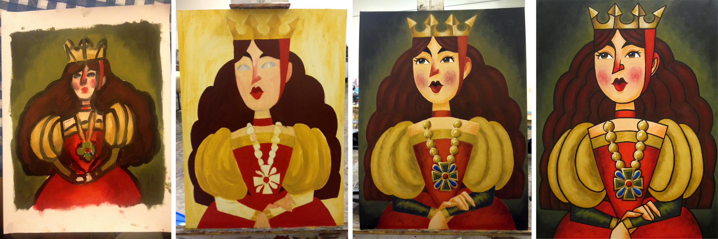 queen-painting-process