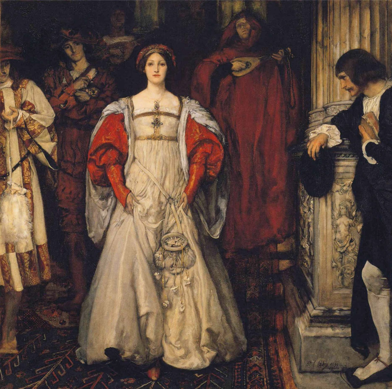 Edwin Austin Abbey - Who is Sylvia- What is She, That All the Swains Commend Her-.JPG
