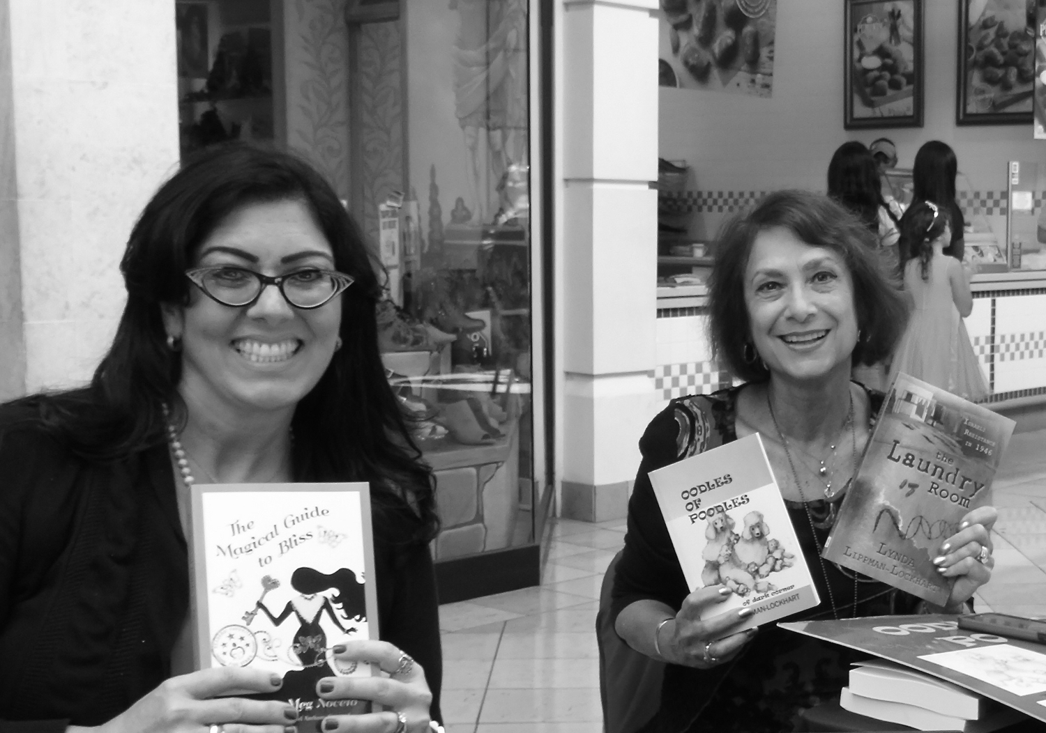 Authors, Meg Nocero and Lynda Lippman Lockhart