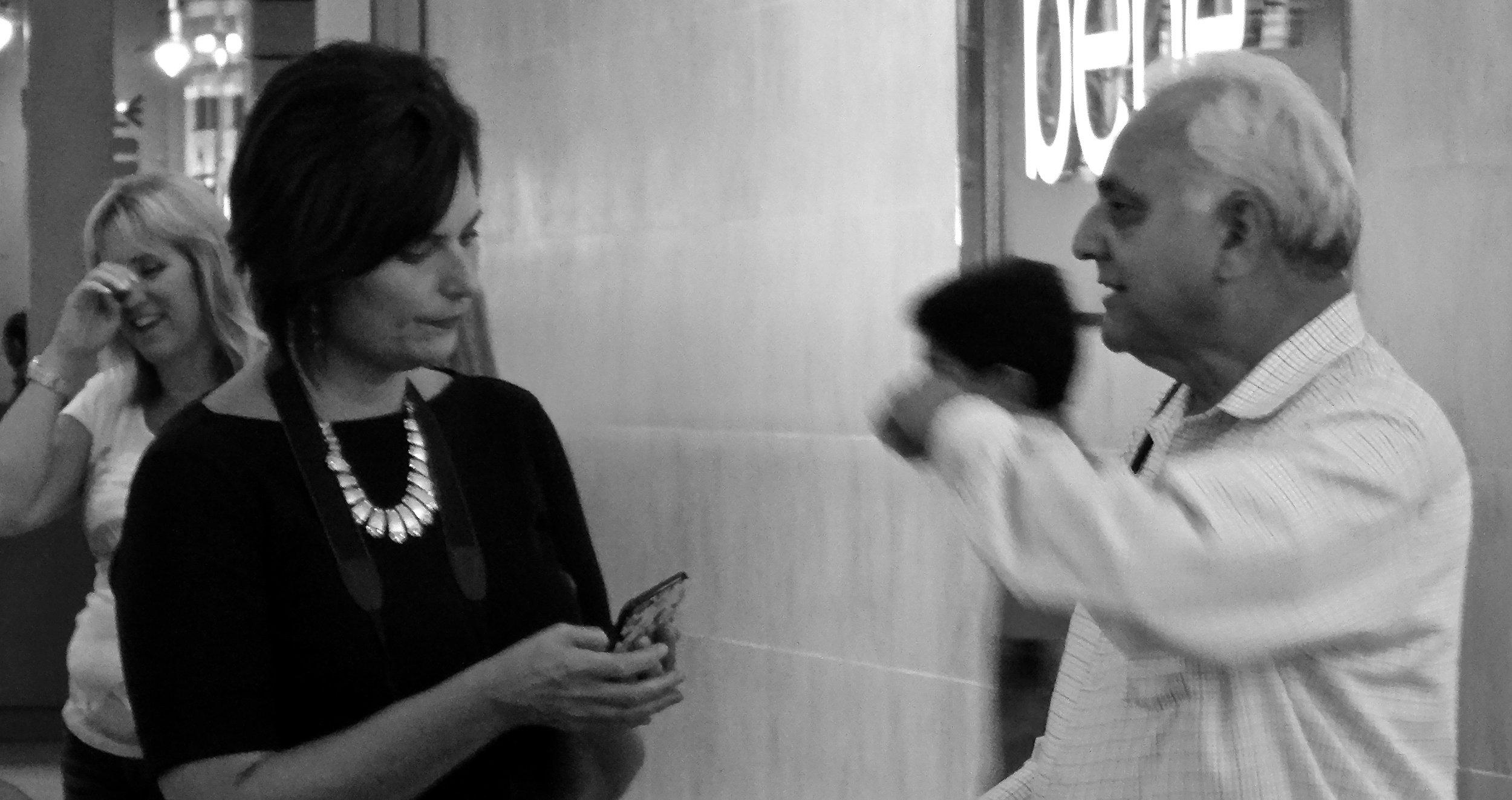 On Point,Karen Gillman with Rick Tauceda, photographer