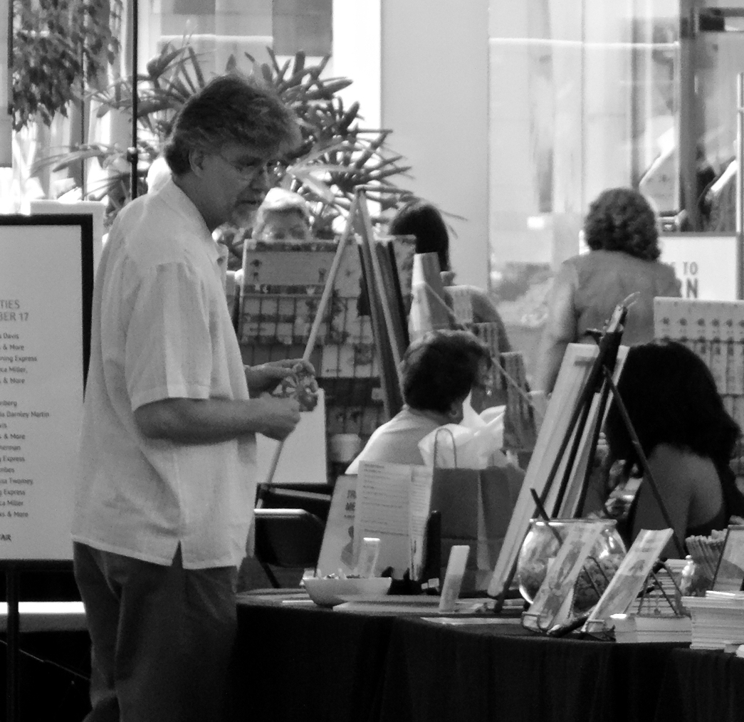 Jeff Walling visits participating authors