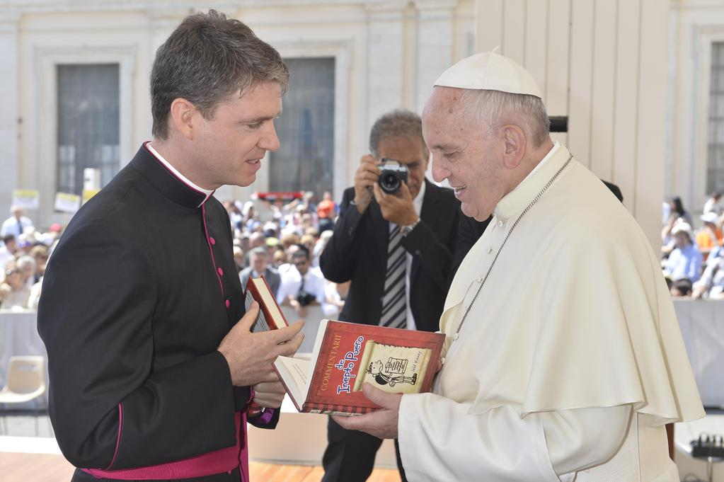 Wimpykid and the Pope