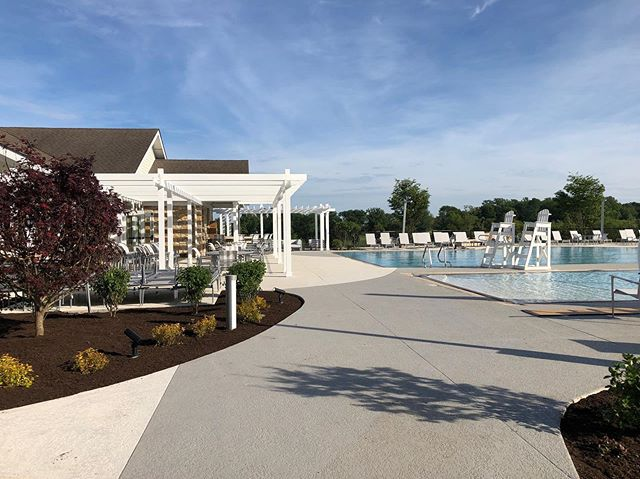 With Labor Day weekend just around the corner and the unofficial end of summer, we'll be spending the rest of fall dreaming about this South Eastern PA pool we designed and completed for our client just before Memorial Day.