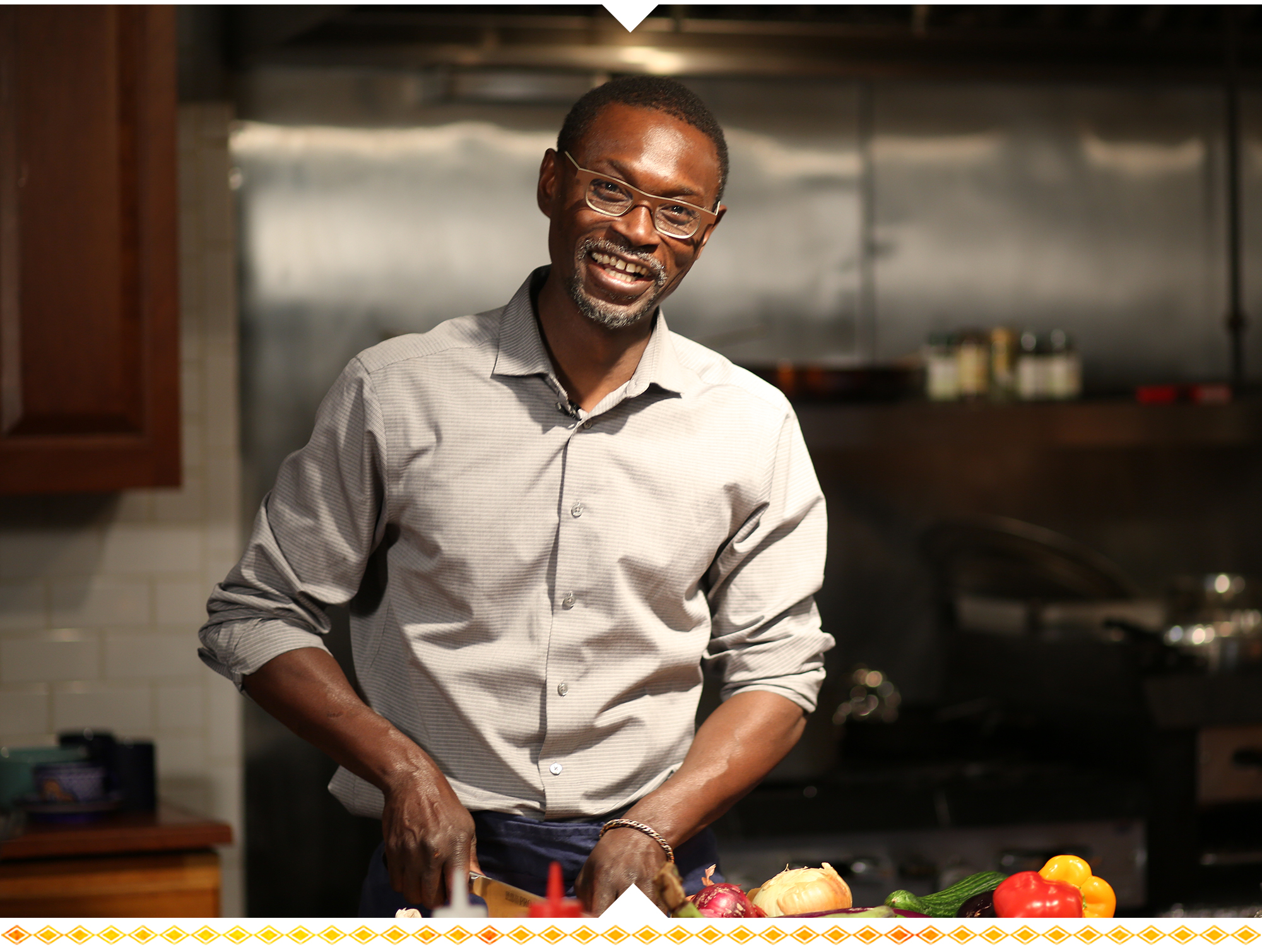 """Pierre Thiam is not just a chef. He is a cultural ambassador."""