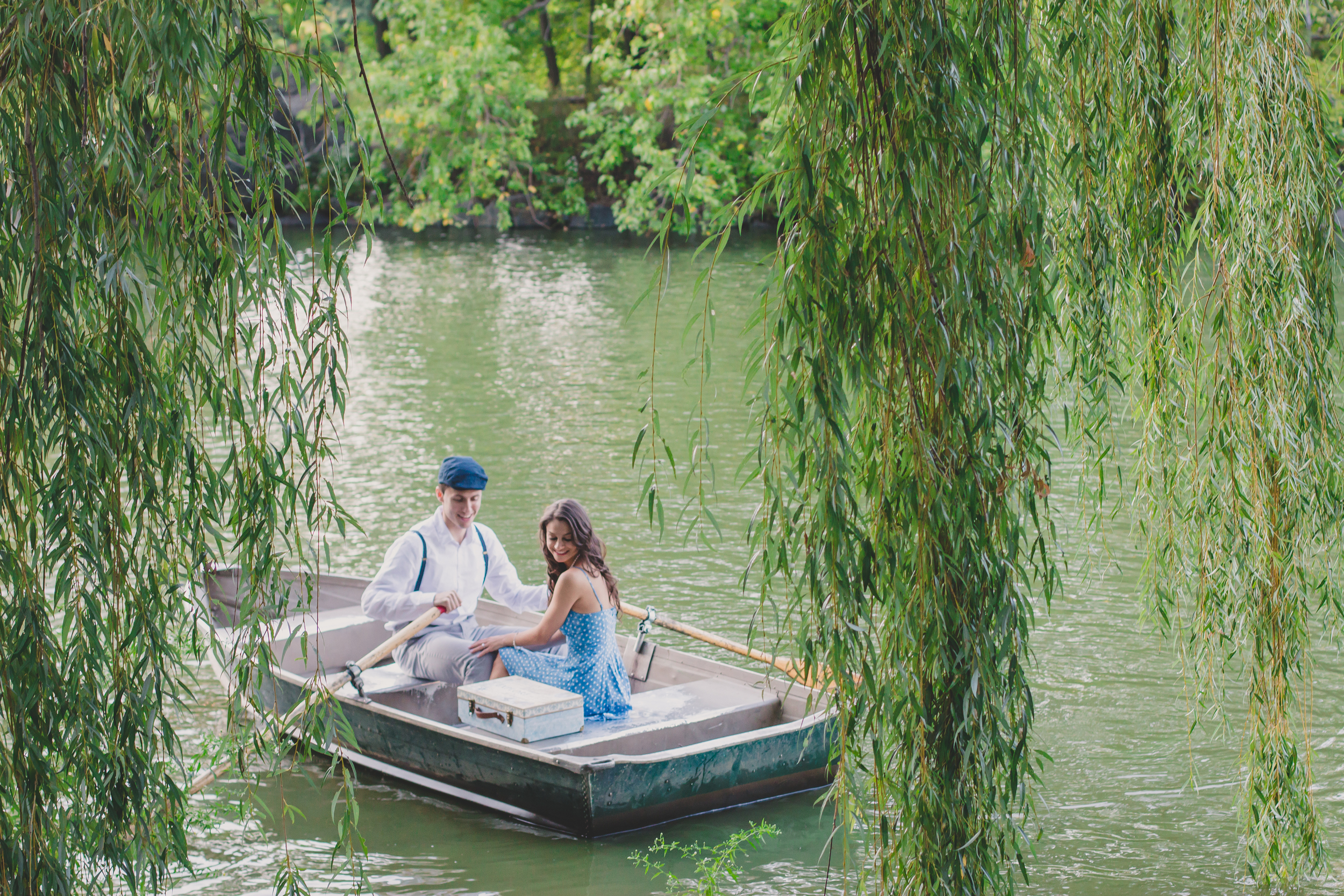 the notebook inspired engagement photograph