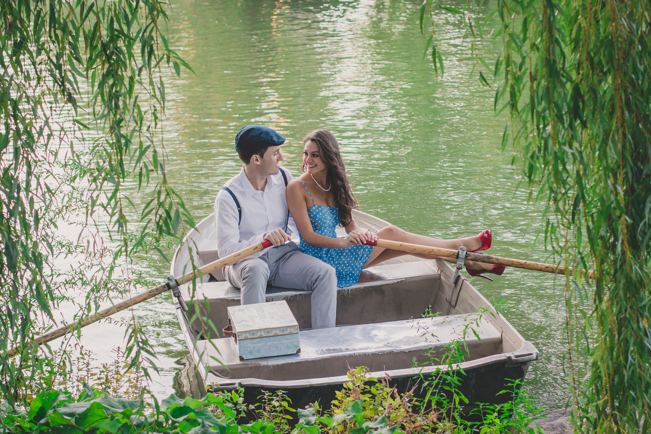 great Gatsby styled shoot