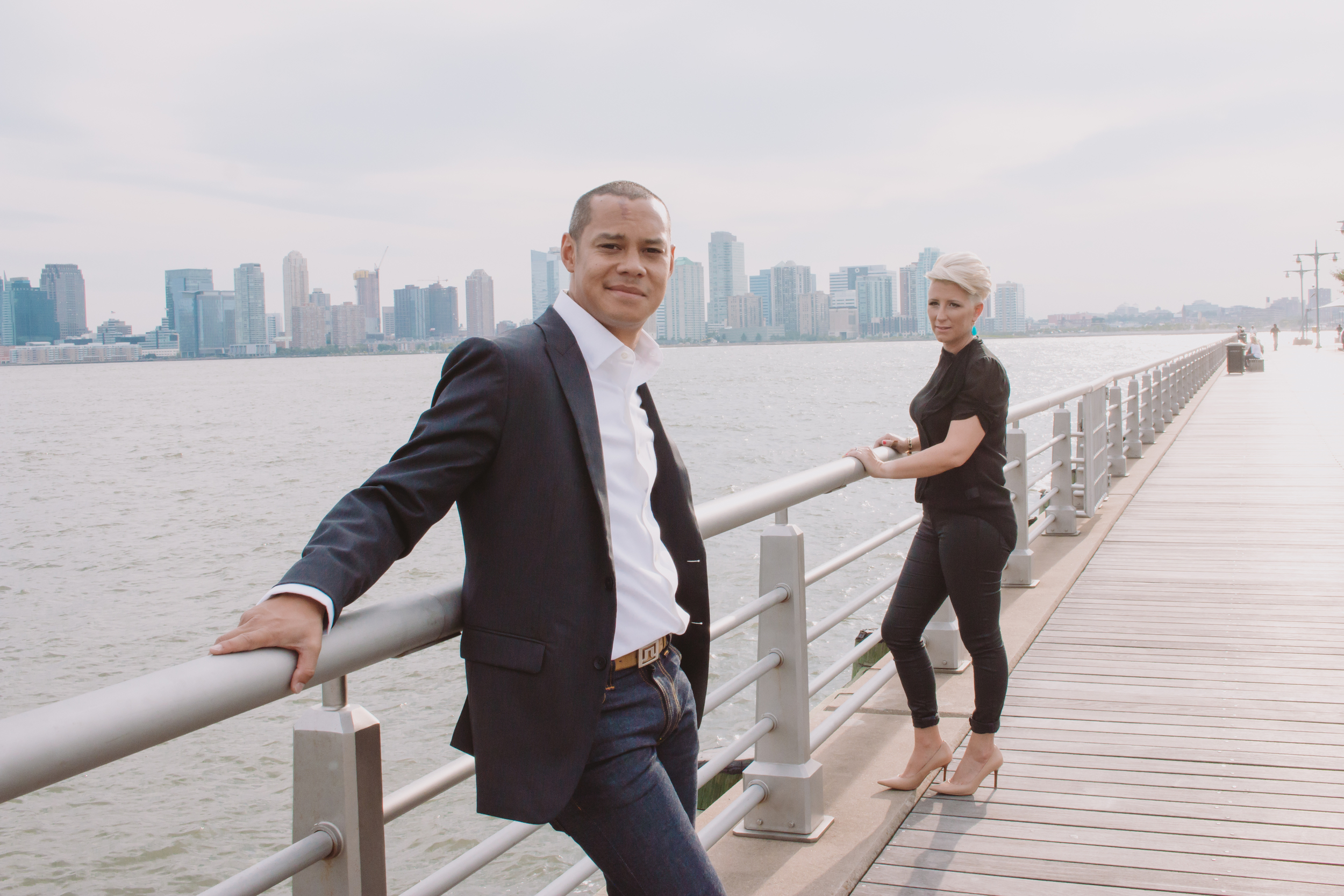 nyc piers engagement session
