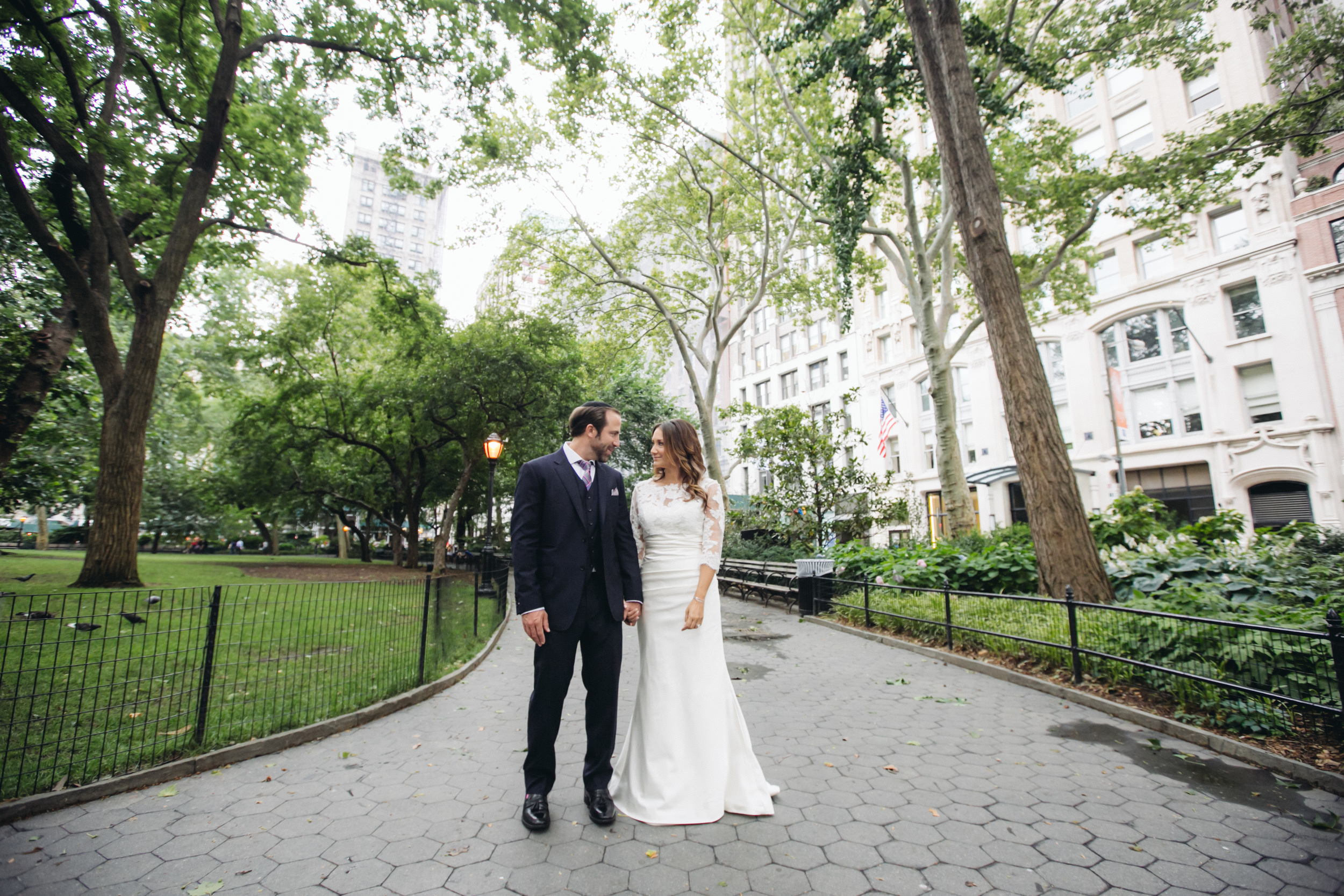 couple in park NYC