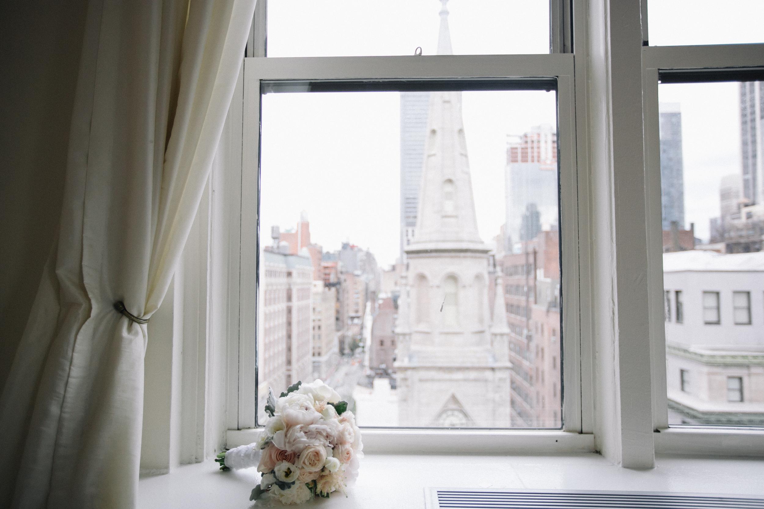 midtown loft wedding