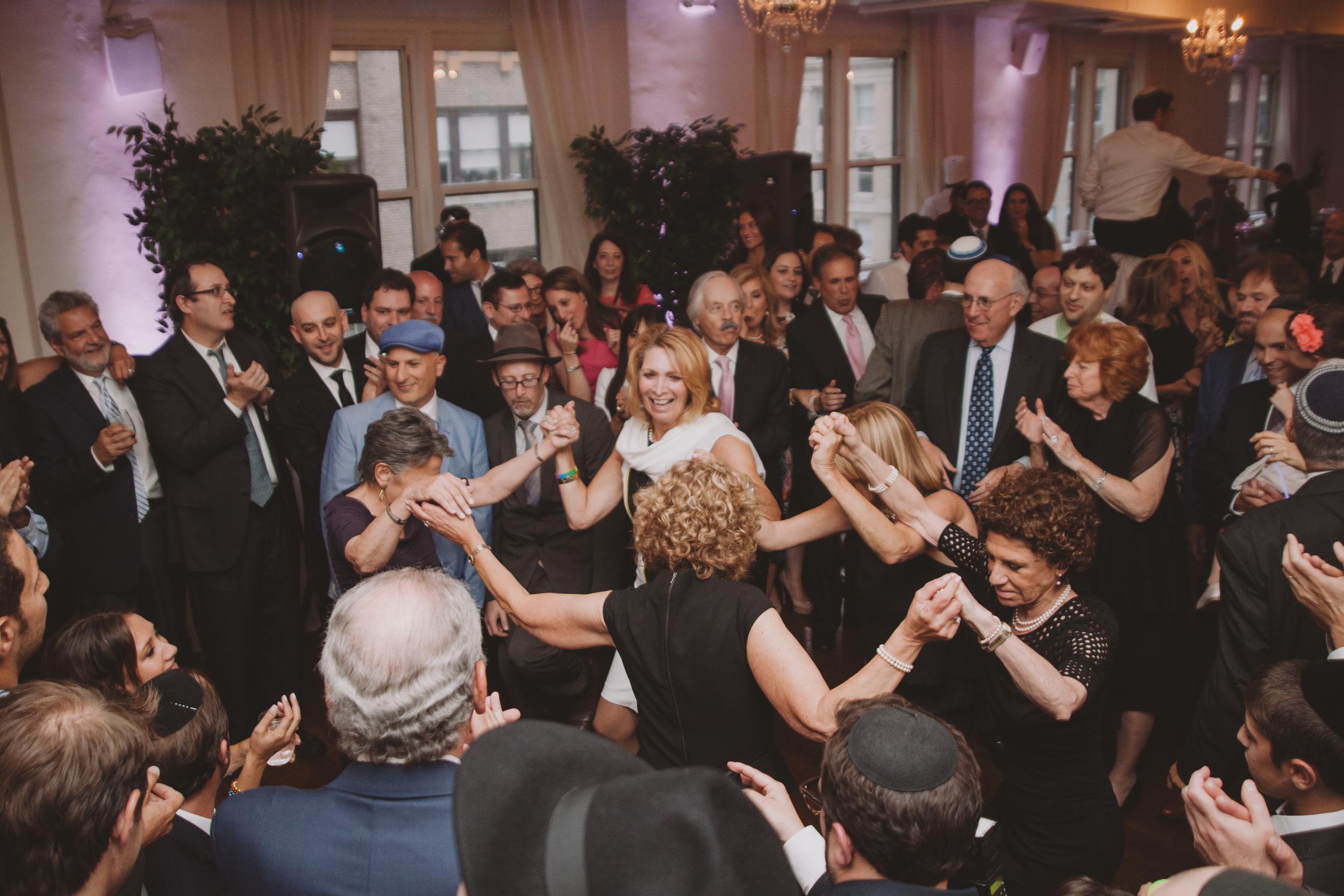 fun party wedding