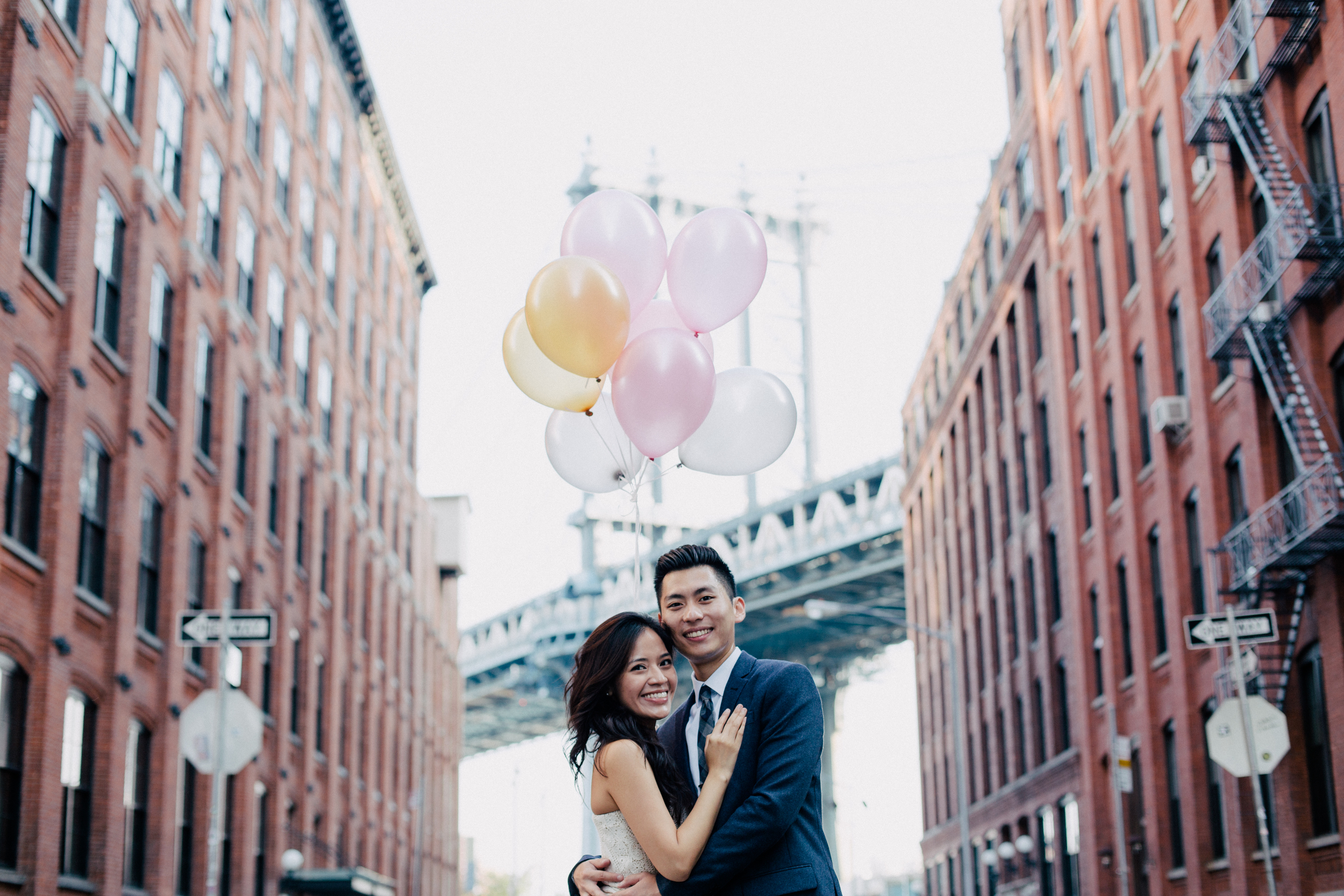 pinterest like engagement shoot in Brooklyn ny