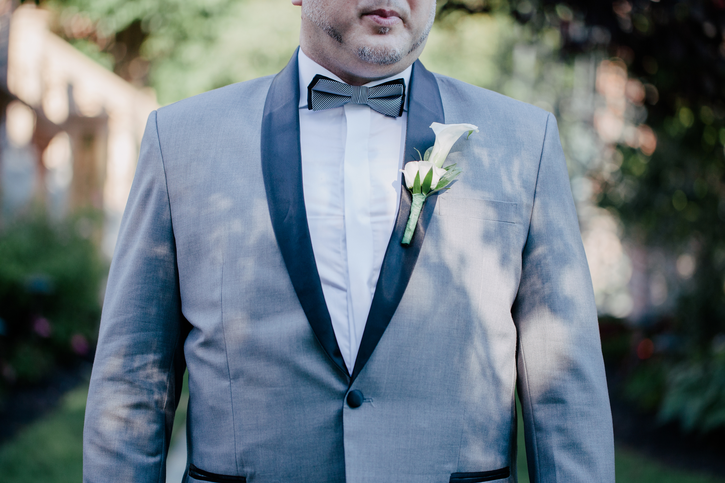 blue suite for wedding