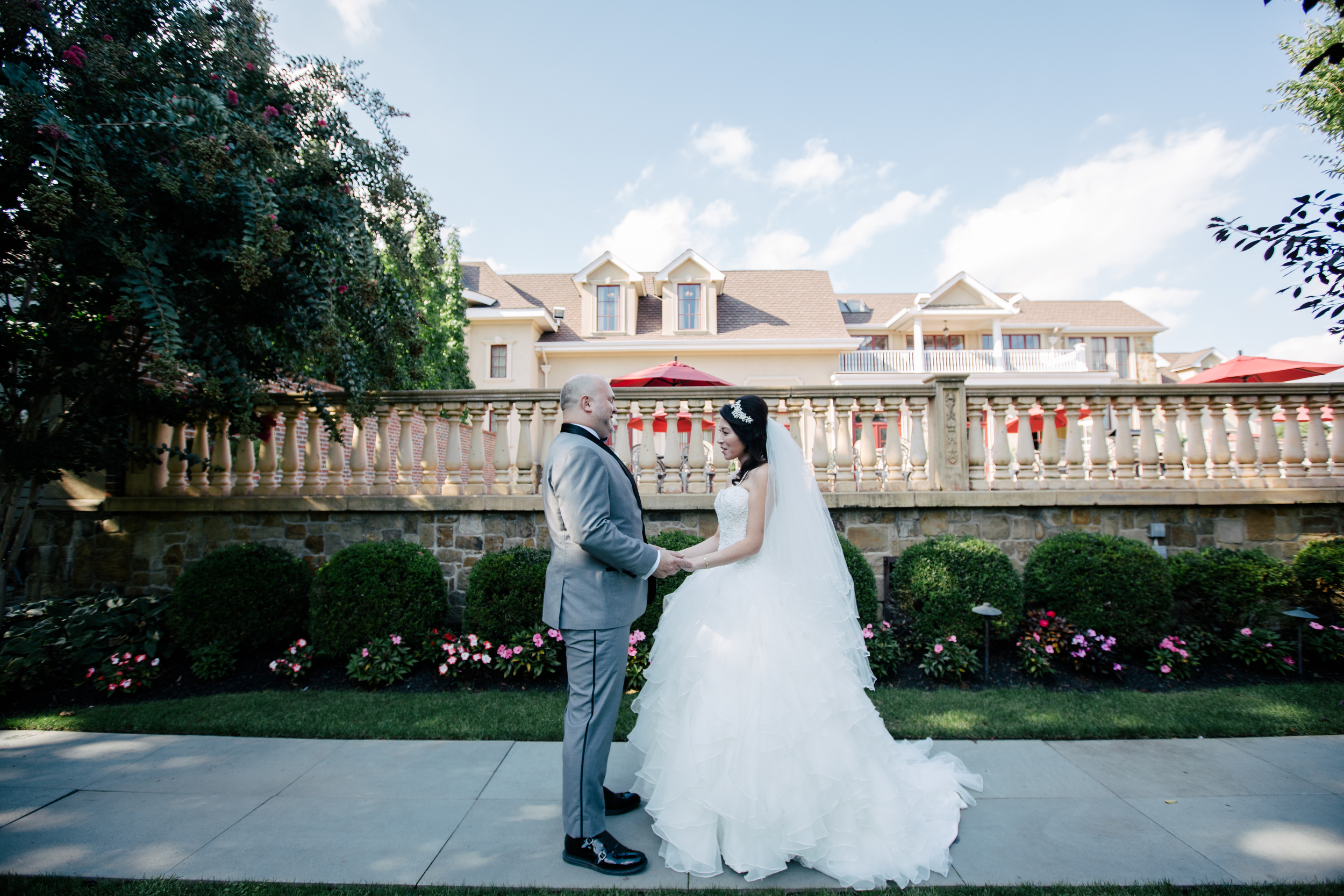 cute couple at the inn at new hyde park in queens new york
