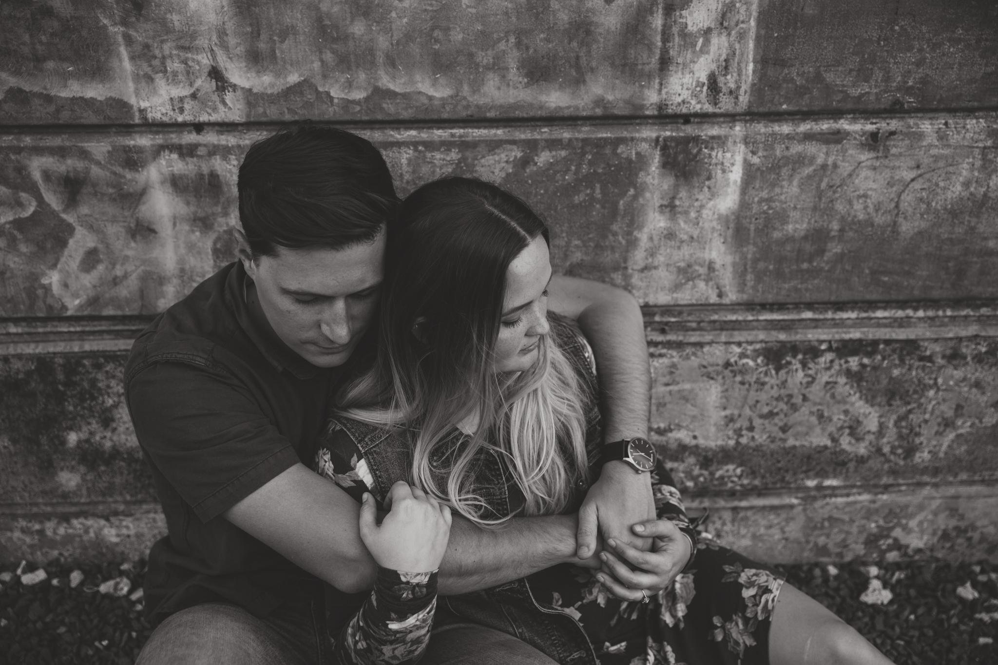 black and white texas wedding photographer