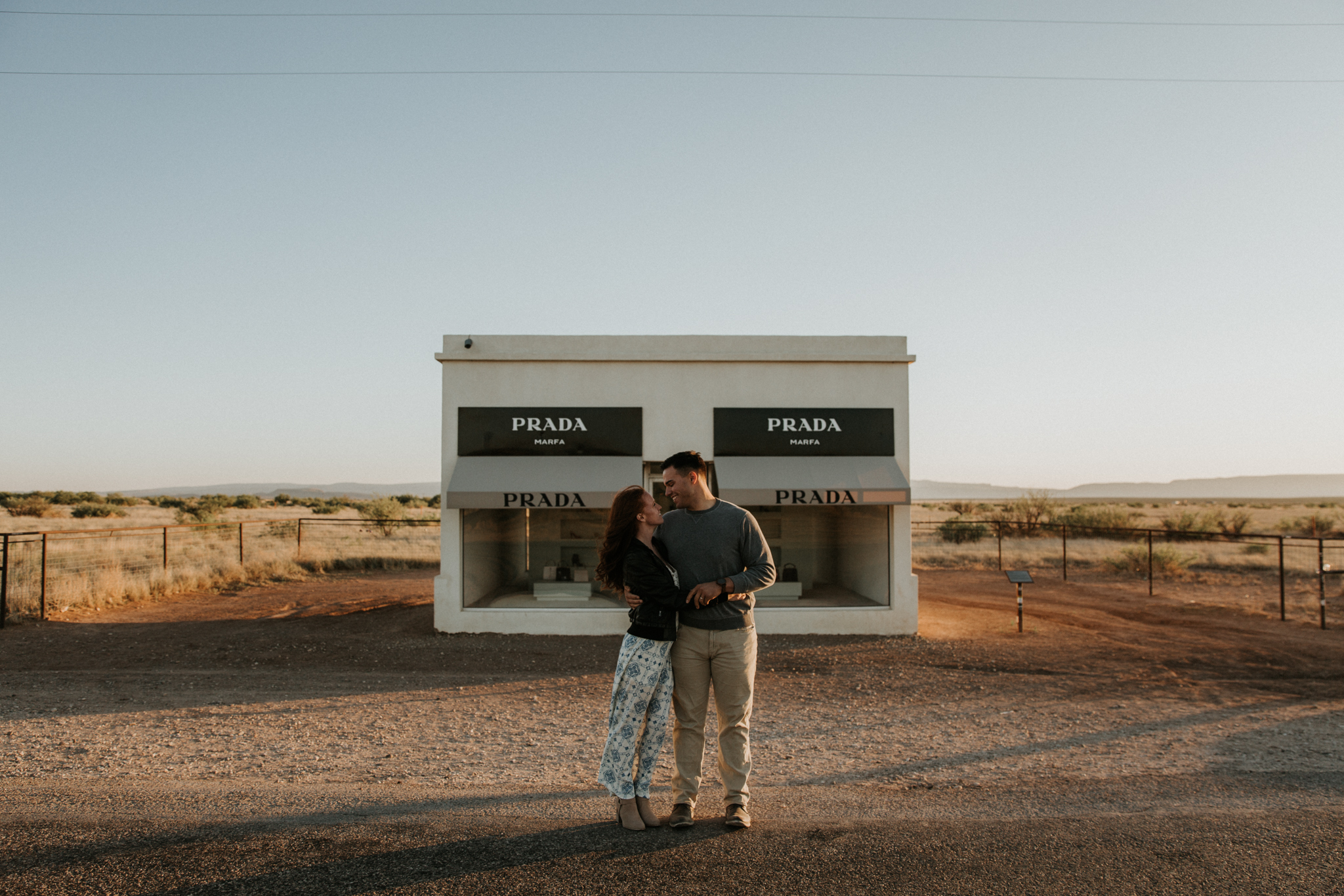 prada marfa sunset