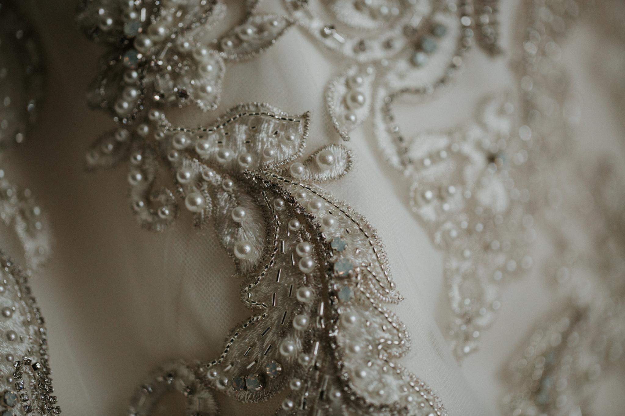 nyc wedding dress photography